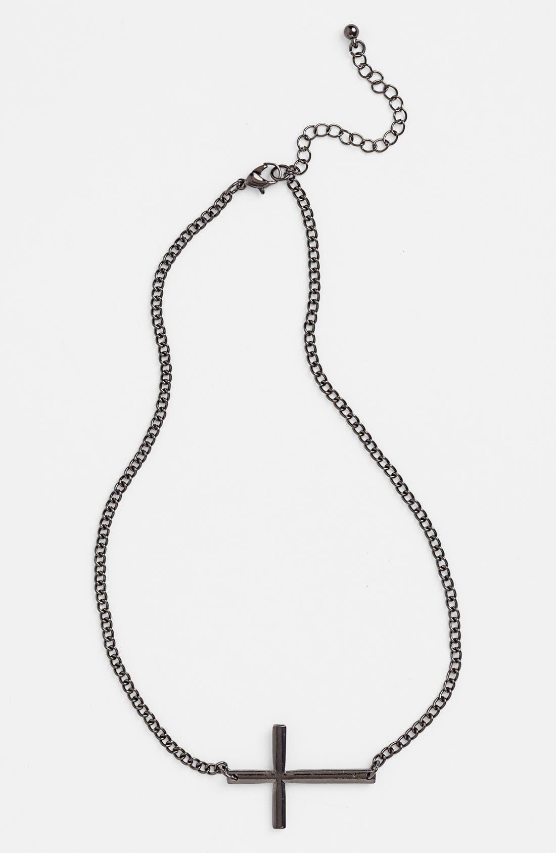 Main Image - Orion Cross Pendant Necklace