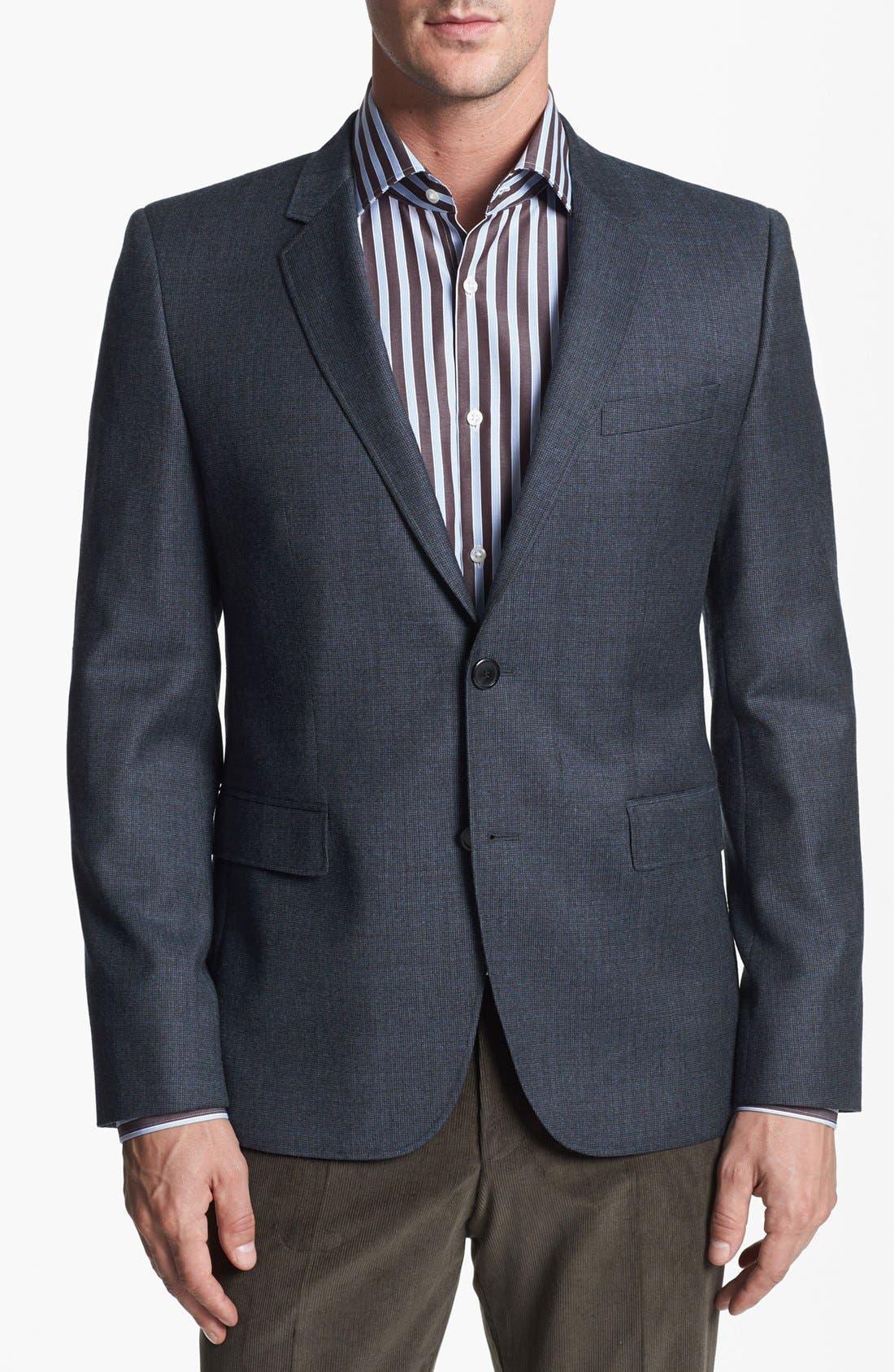 Alternate Image 1 Selected - HUGO 'Aeris' Extra Trim Fit Sportcoat
