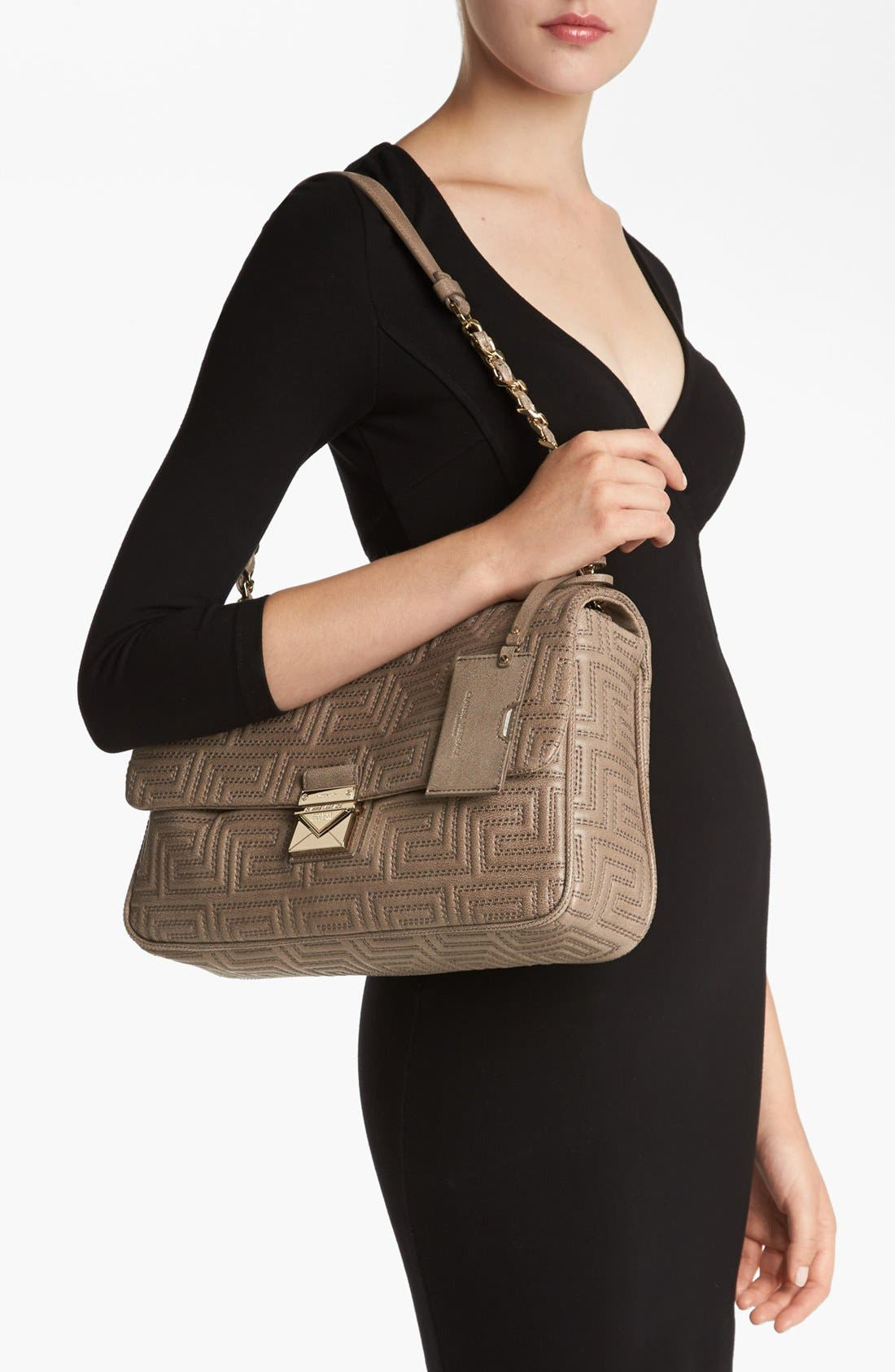 Alternate Image 2  - Versace 'Couture' Leather Flap Shoulder Bag