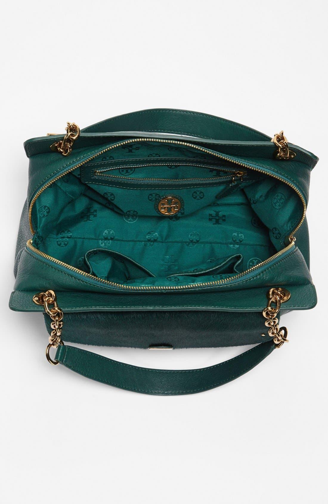 Alternate Image 3  - Tory Burch 'Priscilla' Leather & Calf Hair Shoulder Bag