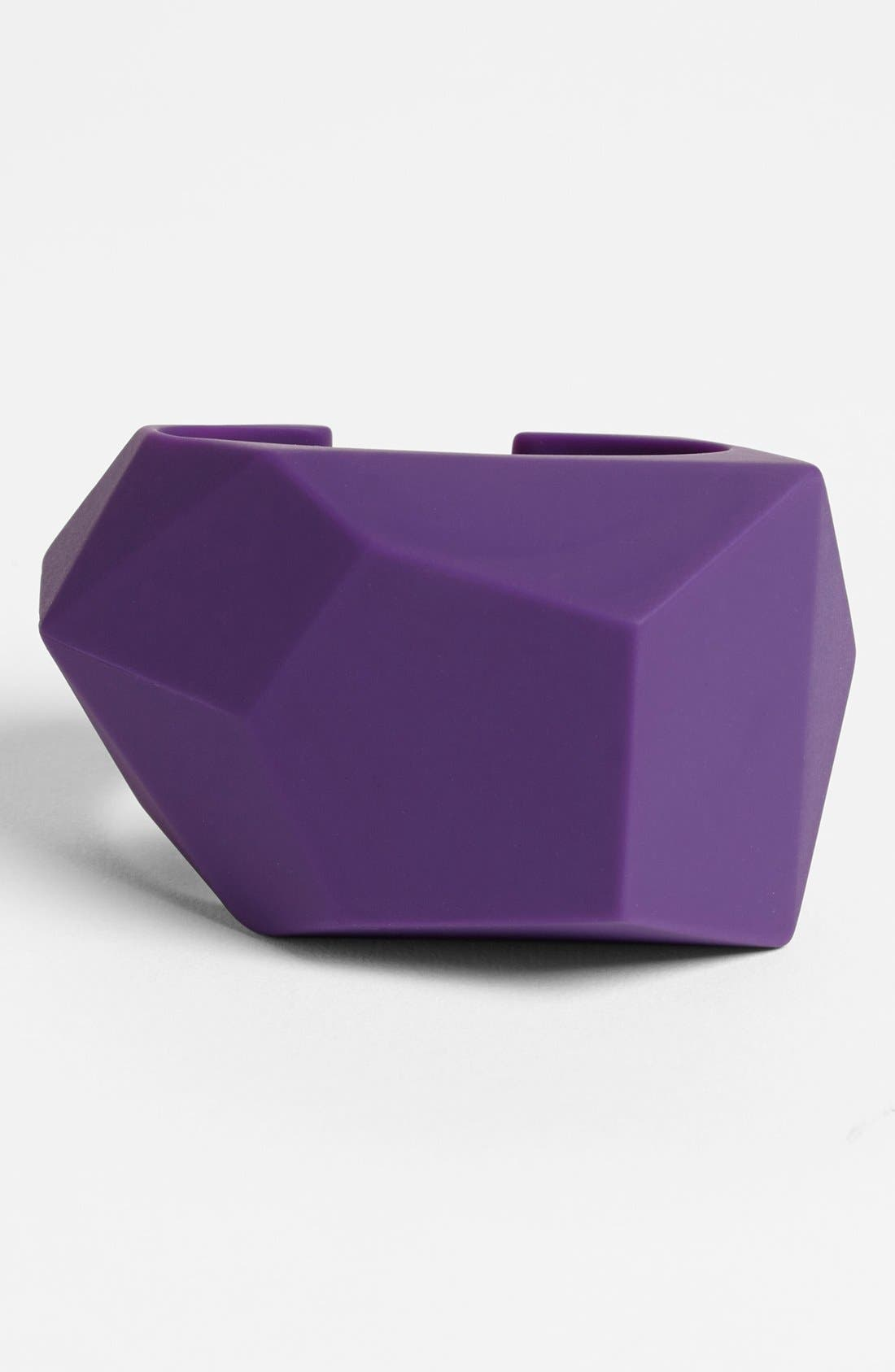 Alternate Image 1 Selected - MARC BY MARC JACOBS 'Rock' Rubber Cuff