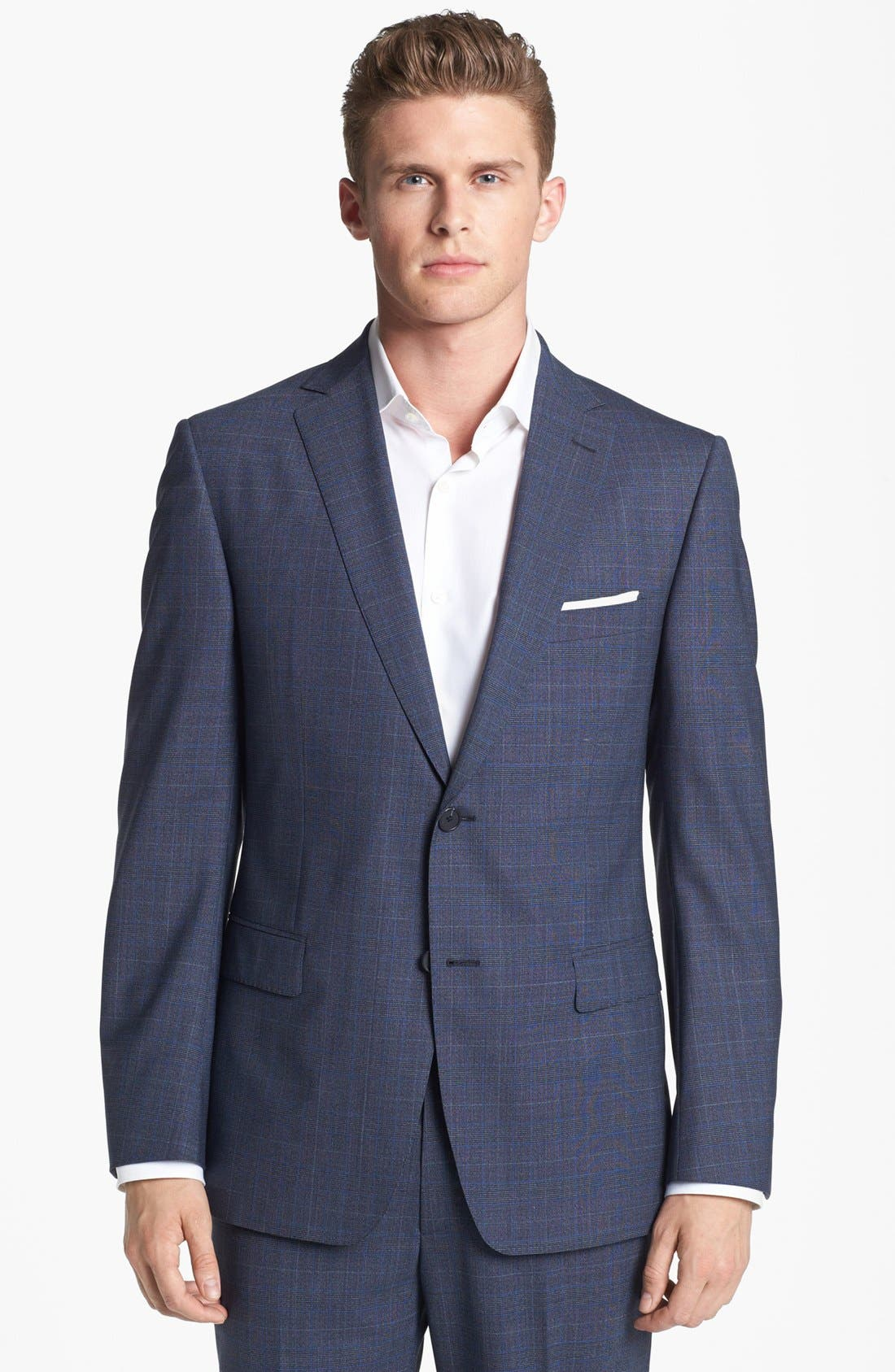 Alternate Image 4  - Z Zegna Plaid Wool Suit