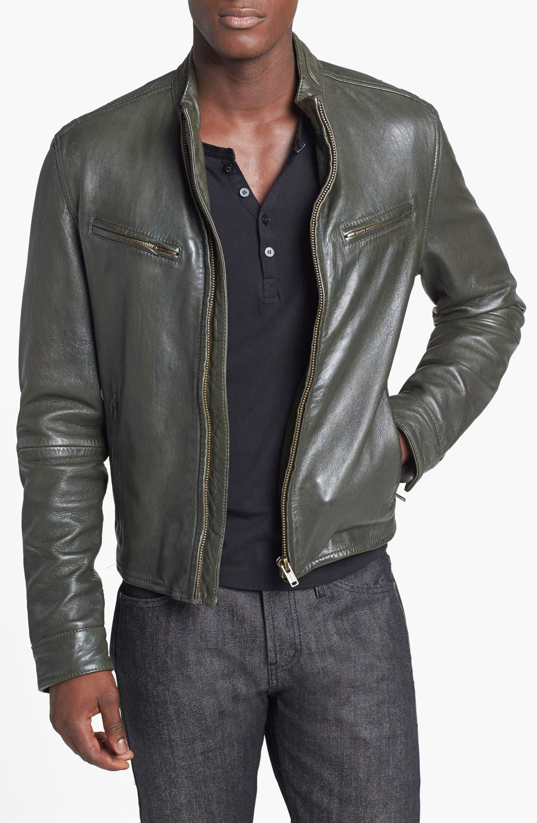 Alternate Image 1 Selected - Levi's® Made & Crafted™ Leather Biker Jacket