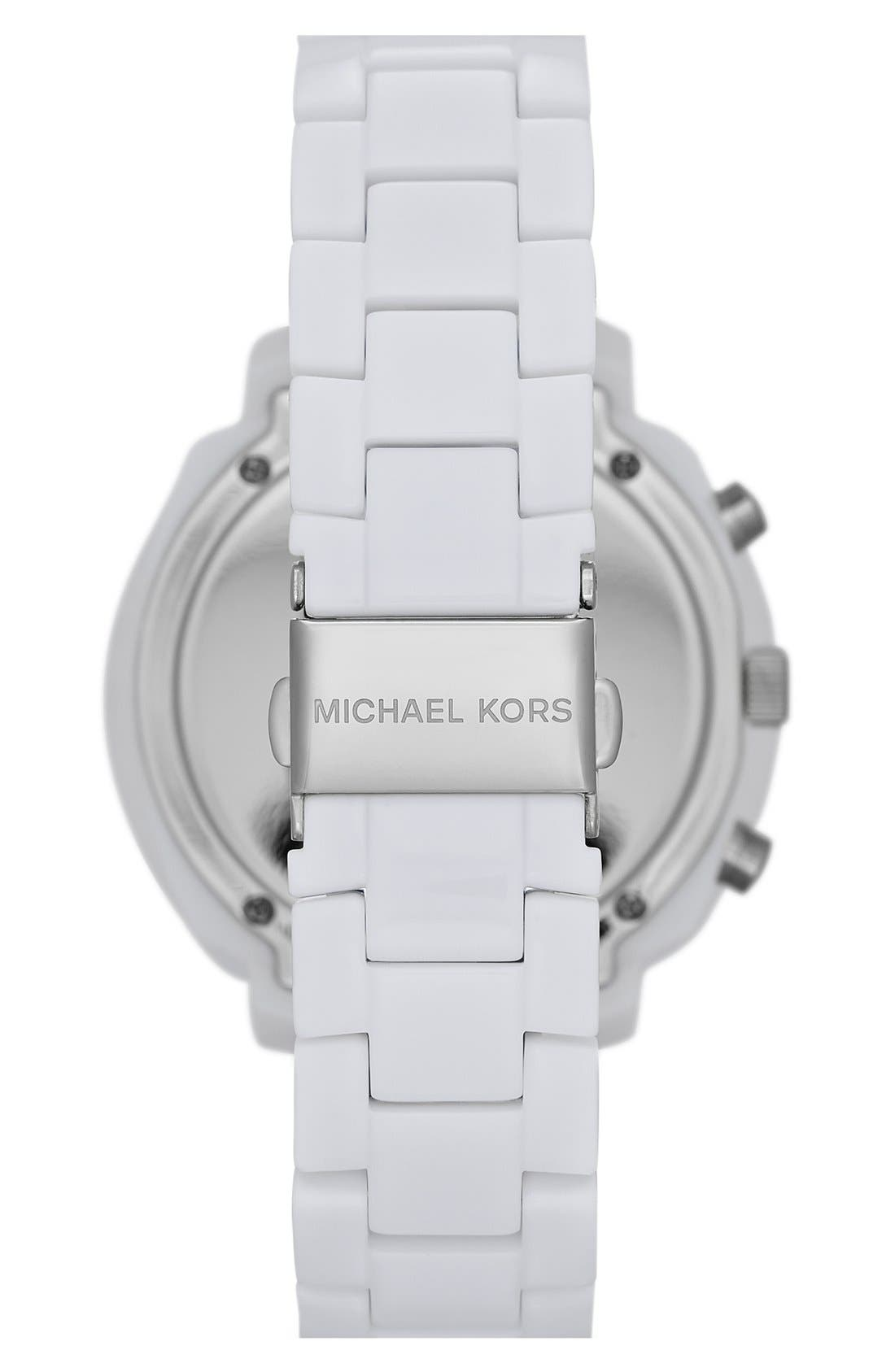 Alternate Image 2  - Michael Kors 'Wolcott' Chronograph Bracelet Watch, 41mm