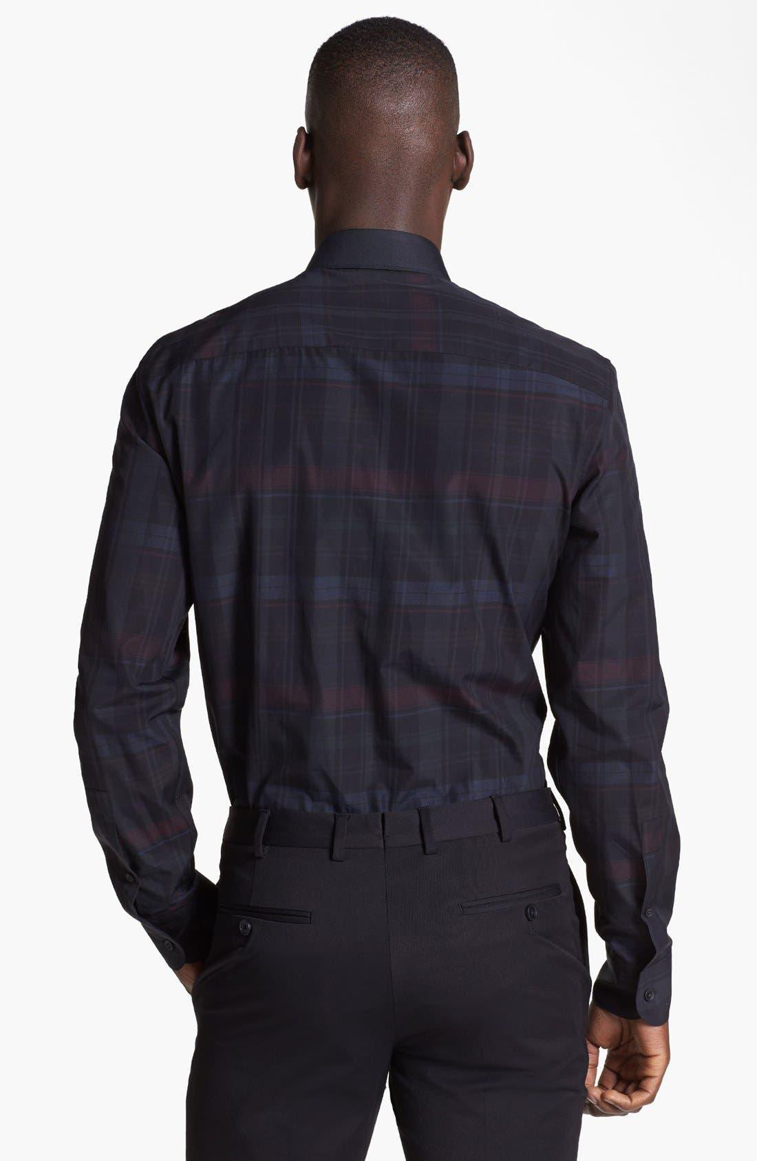 Alternate Image 2  - Z Zegna Plaid Check Woven Shirt