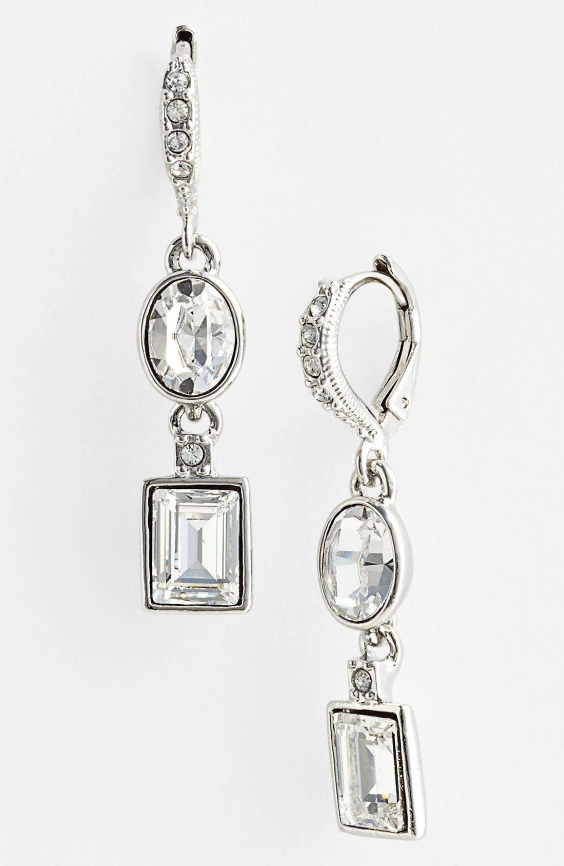 Alternate Image 1 Selected - Givenchy Crystal Drop Earrings (Nordstrom Exclusive)