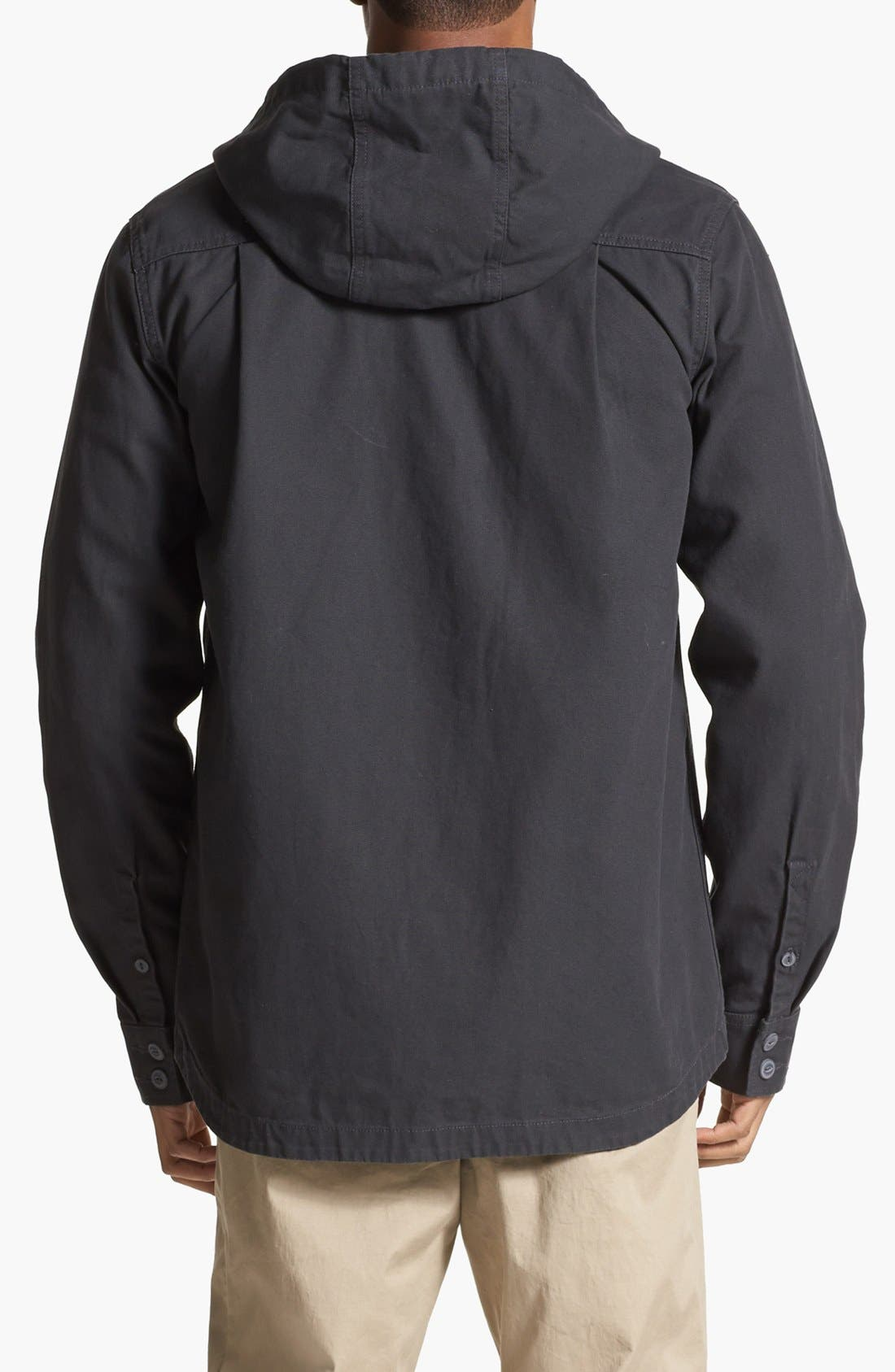 Alternate Image 2  - Vans 'Lismore' Canvas Cotton Hooded Jacket