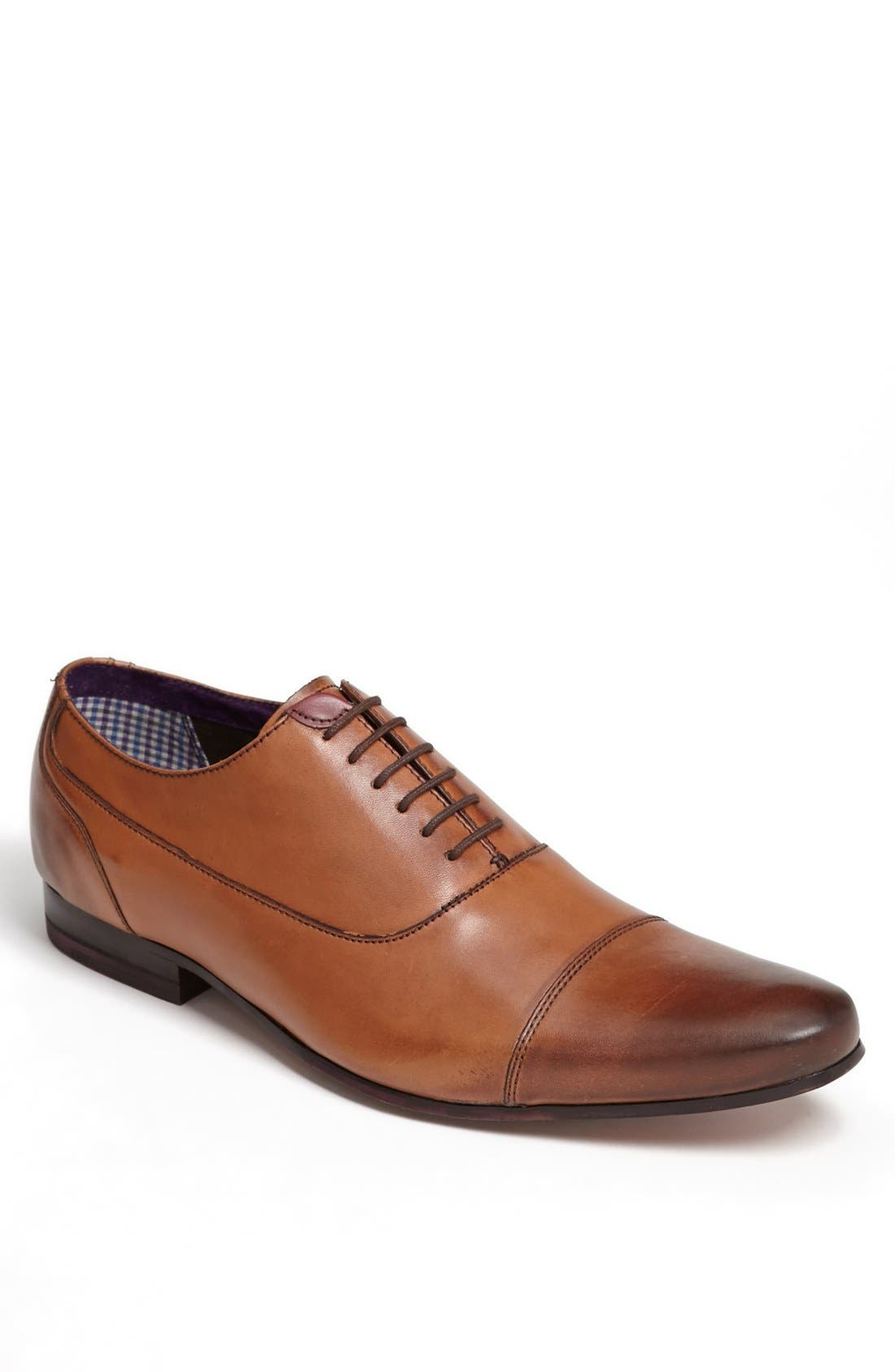 Main Image - Ted Baker London 'Churen 3' Cap Toe Oxford