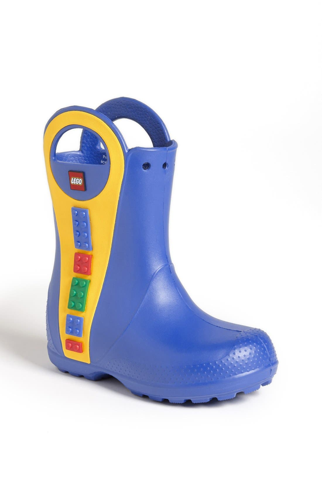 Alternate Image 1 Selected - CROCS™ 'Handle It - LEGO®' Rain Boot (Walker, Toddler & Little Kid)