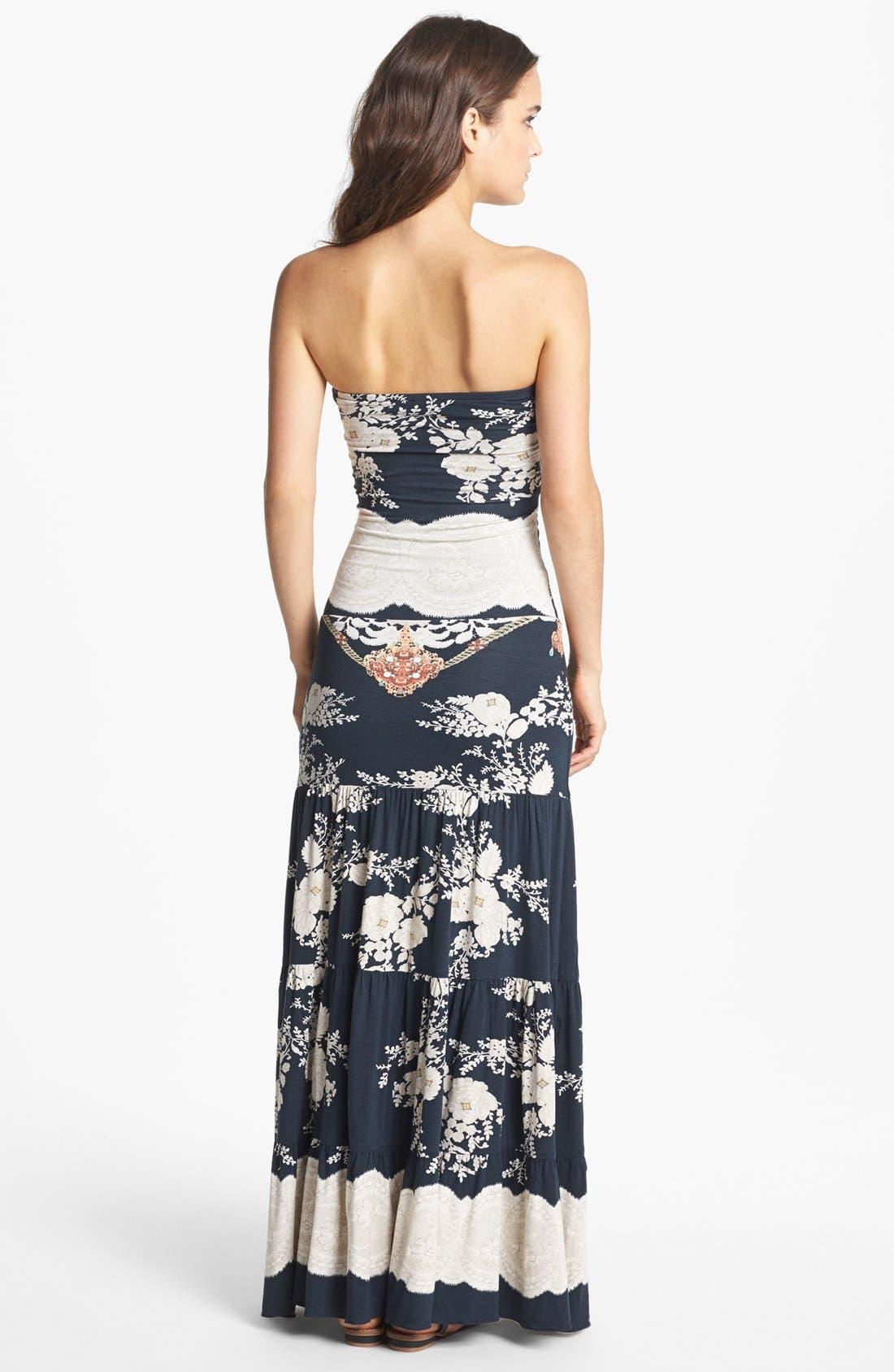 Alternate Image 2  - Sky Print Embellished Maxi Dress