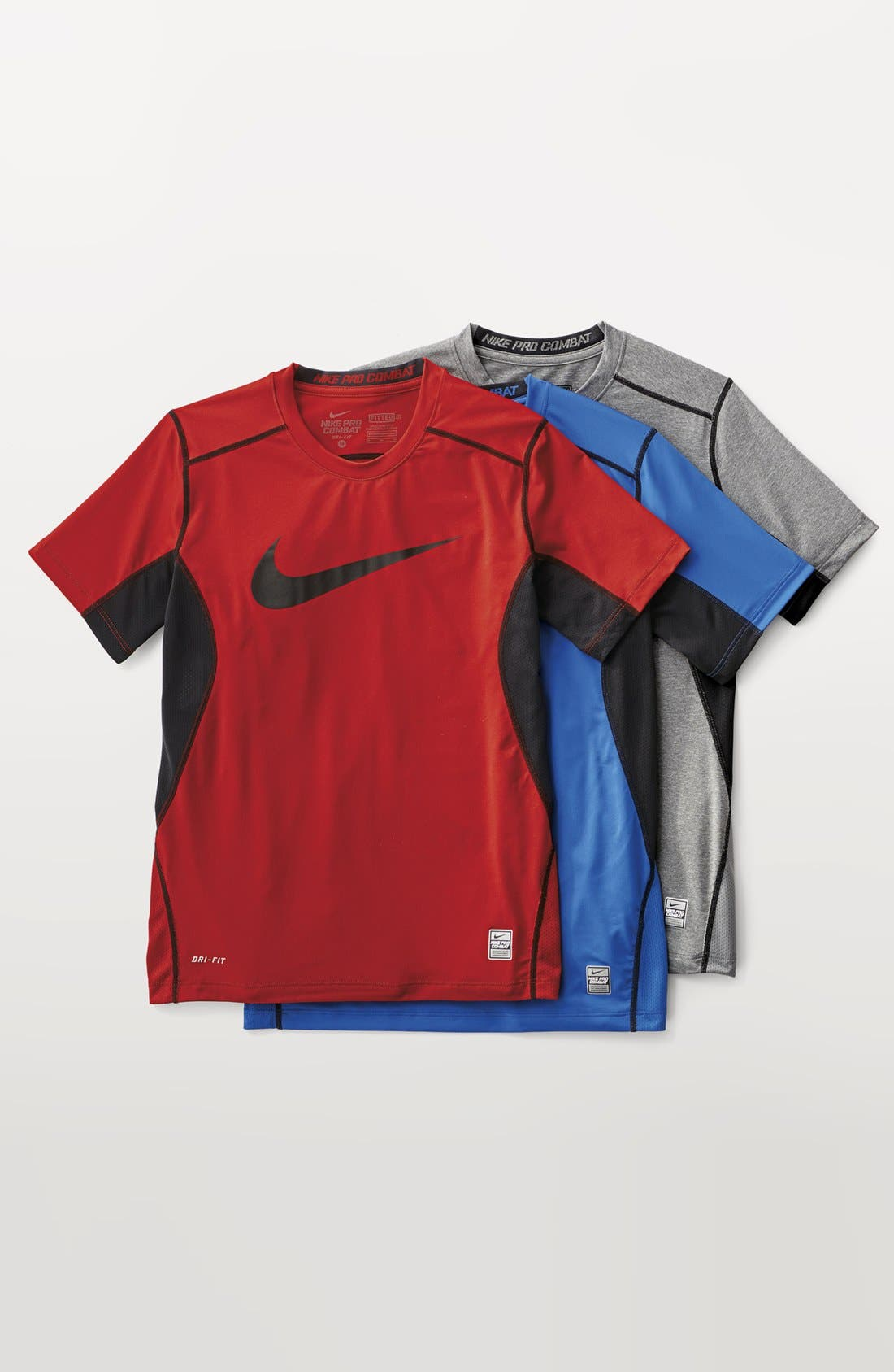 Alternate Image 2  - Nike 'Core' Fitted Top (Big Boys)