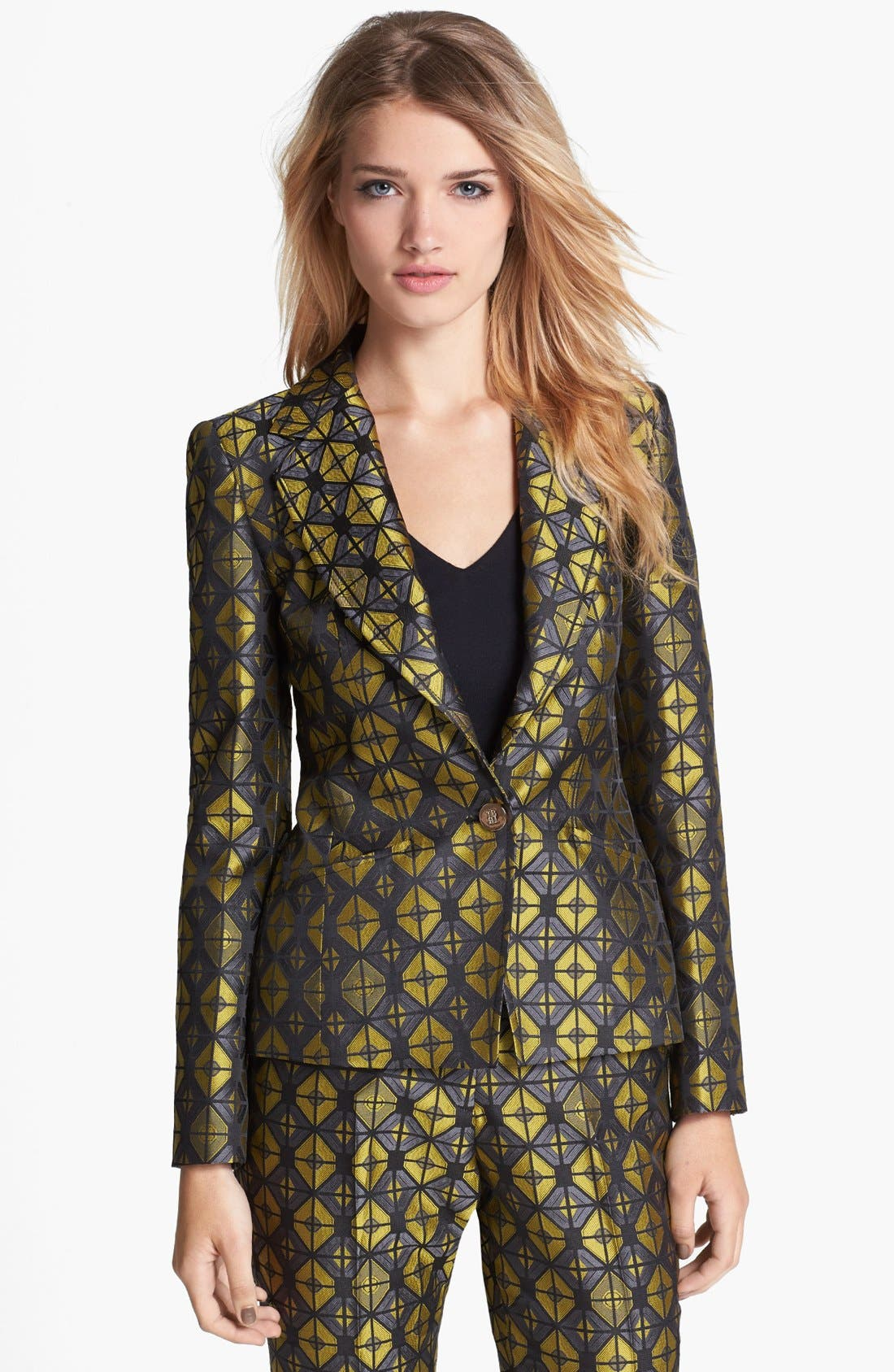 Main Image - Ted Baker London 'Geo' Woven Jacket