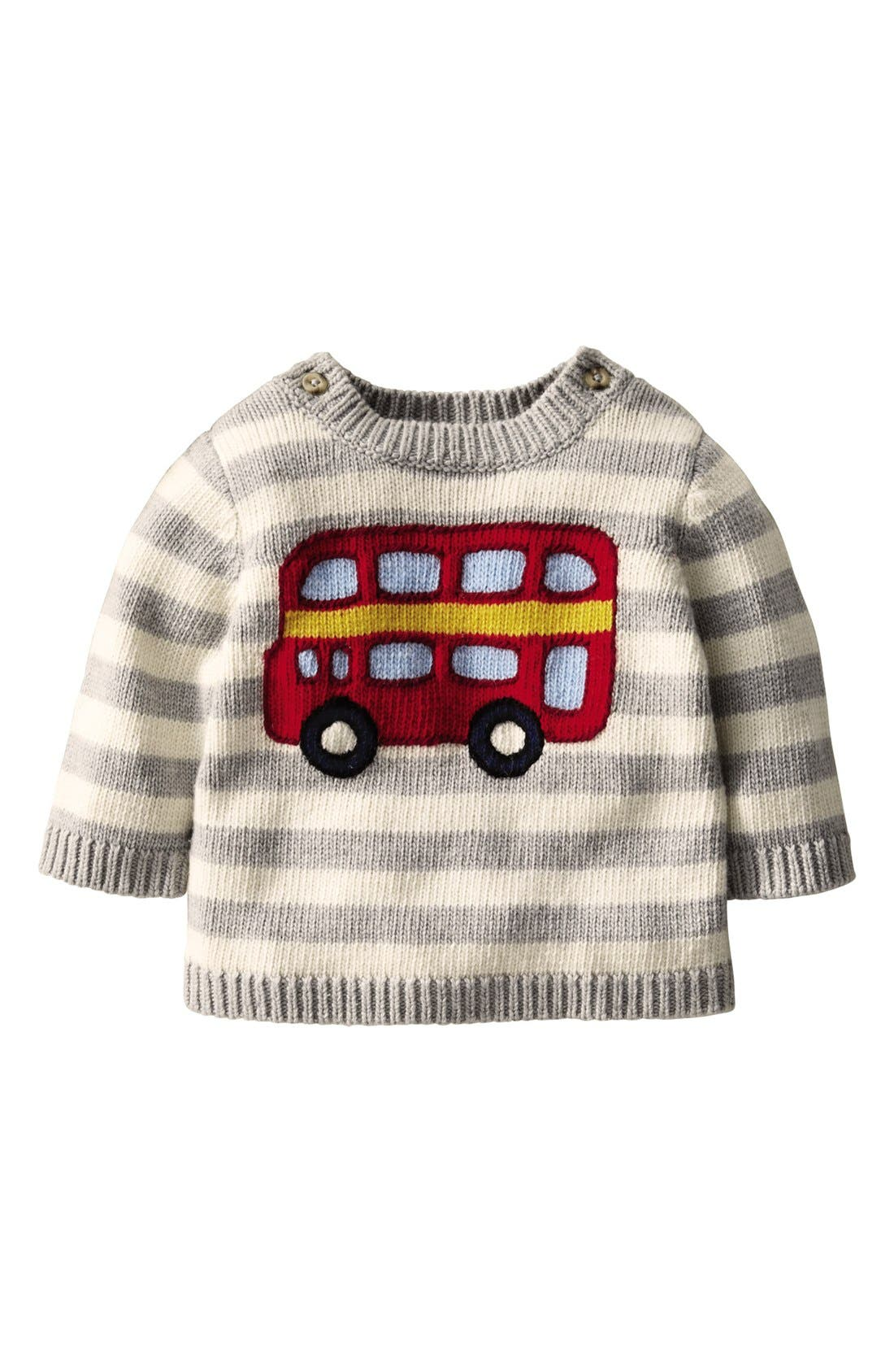 Alternate Image 1 Selected - Mini Boden Sweater (Baby Boys)