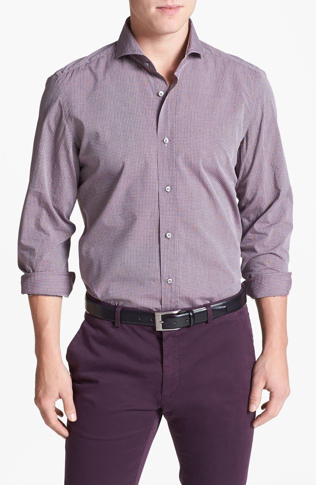 Main Image - BOSS HUGO BOSS 'Sean' Slim Fit Sport Shirt