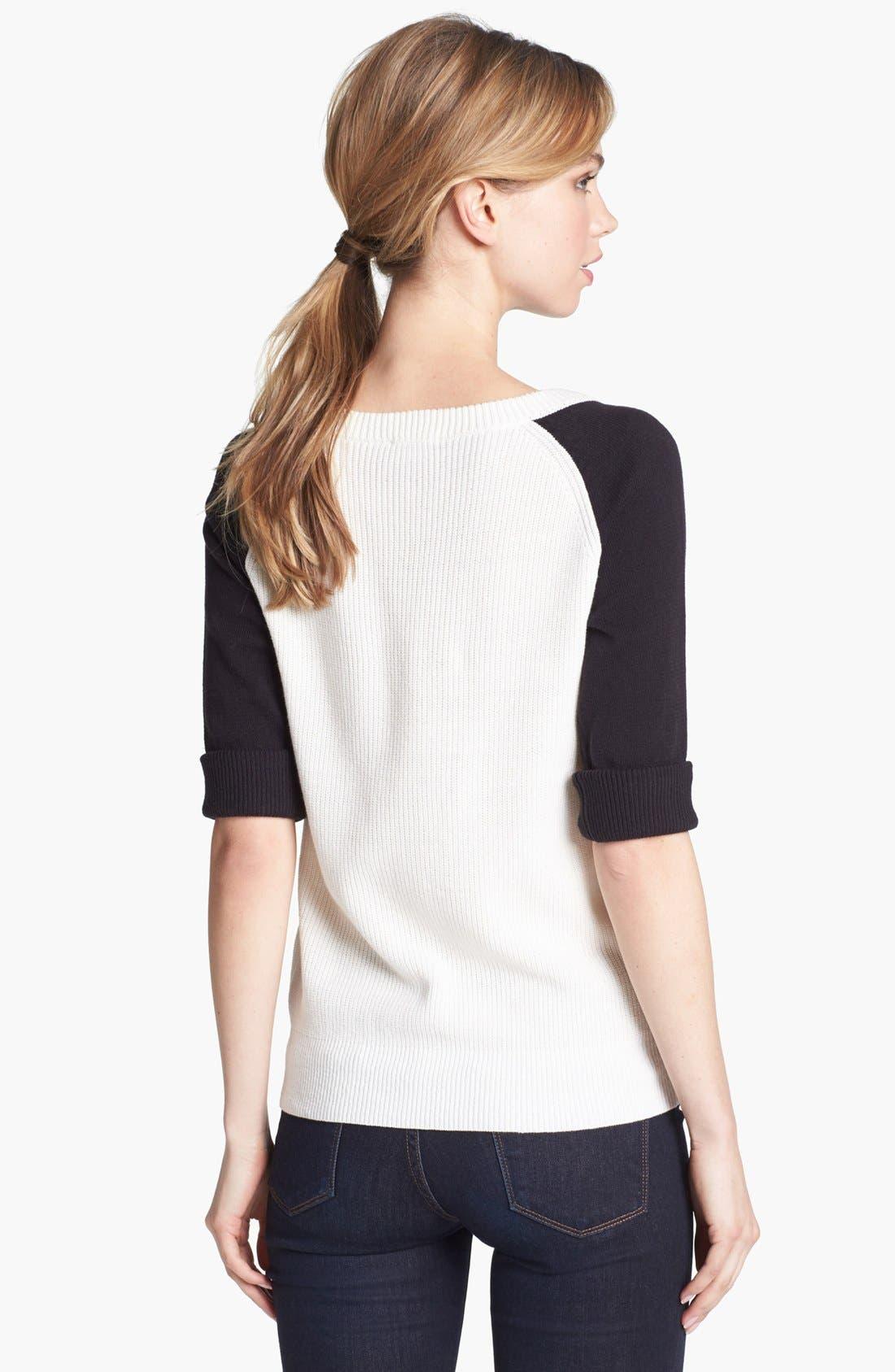 Alternate Image 2  - Vince Camuto Colorblock Sweater