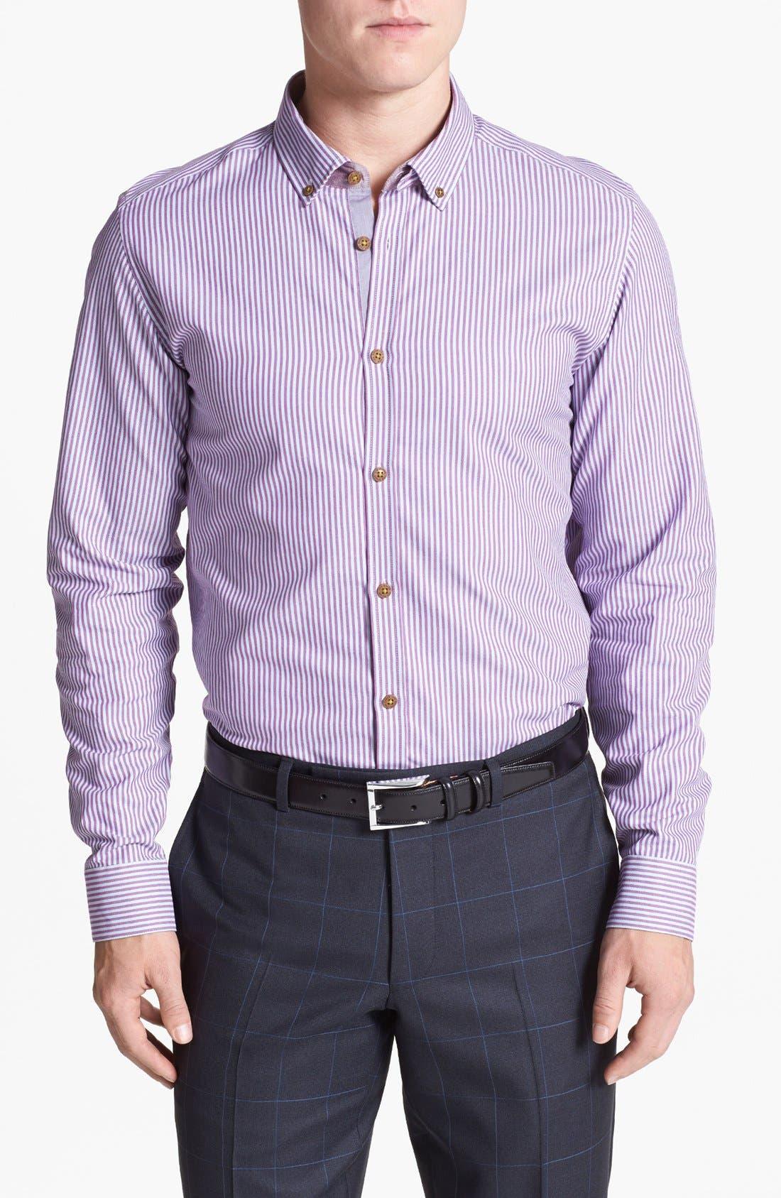 Main Image - Ted Baker London 'Shauno' Trim Fit Sport Shirt