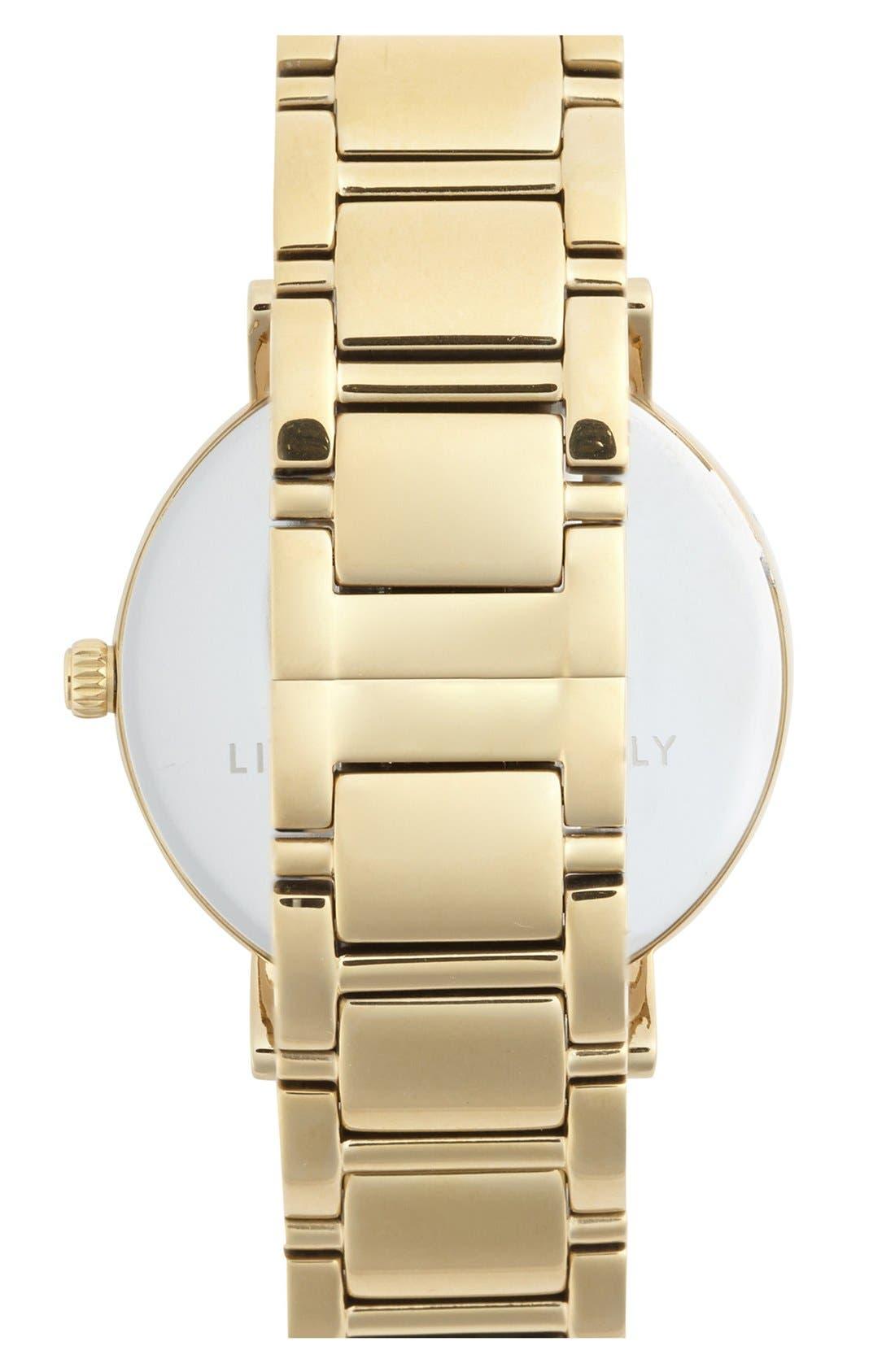 Alternate Image 3  - kate spade new york 'gramercy grand' bracelet watch, 38mm