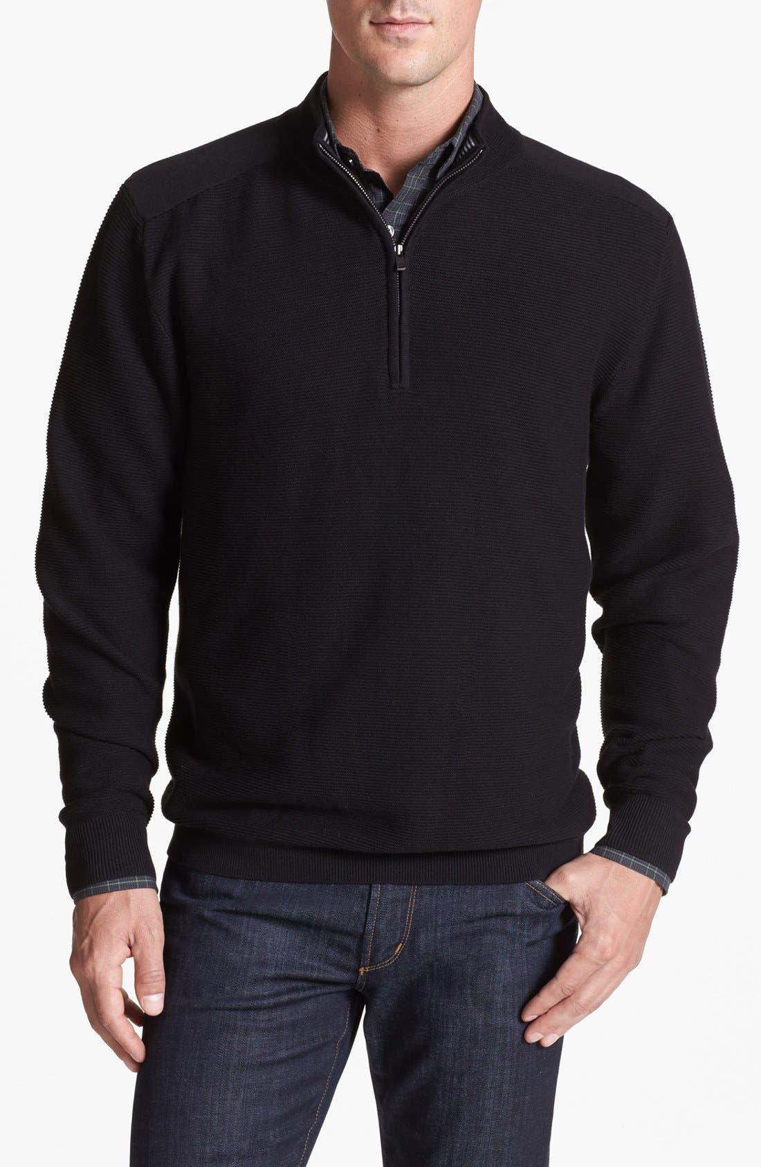 Main Image - Cutter & Buck 'Smith Cove' Half Zip Sweater