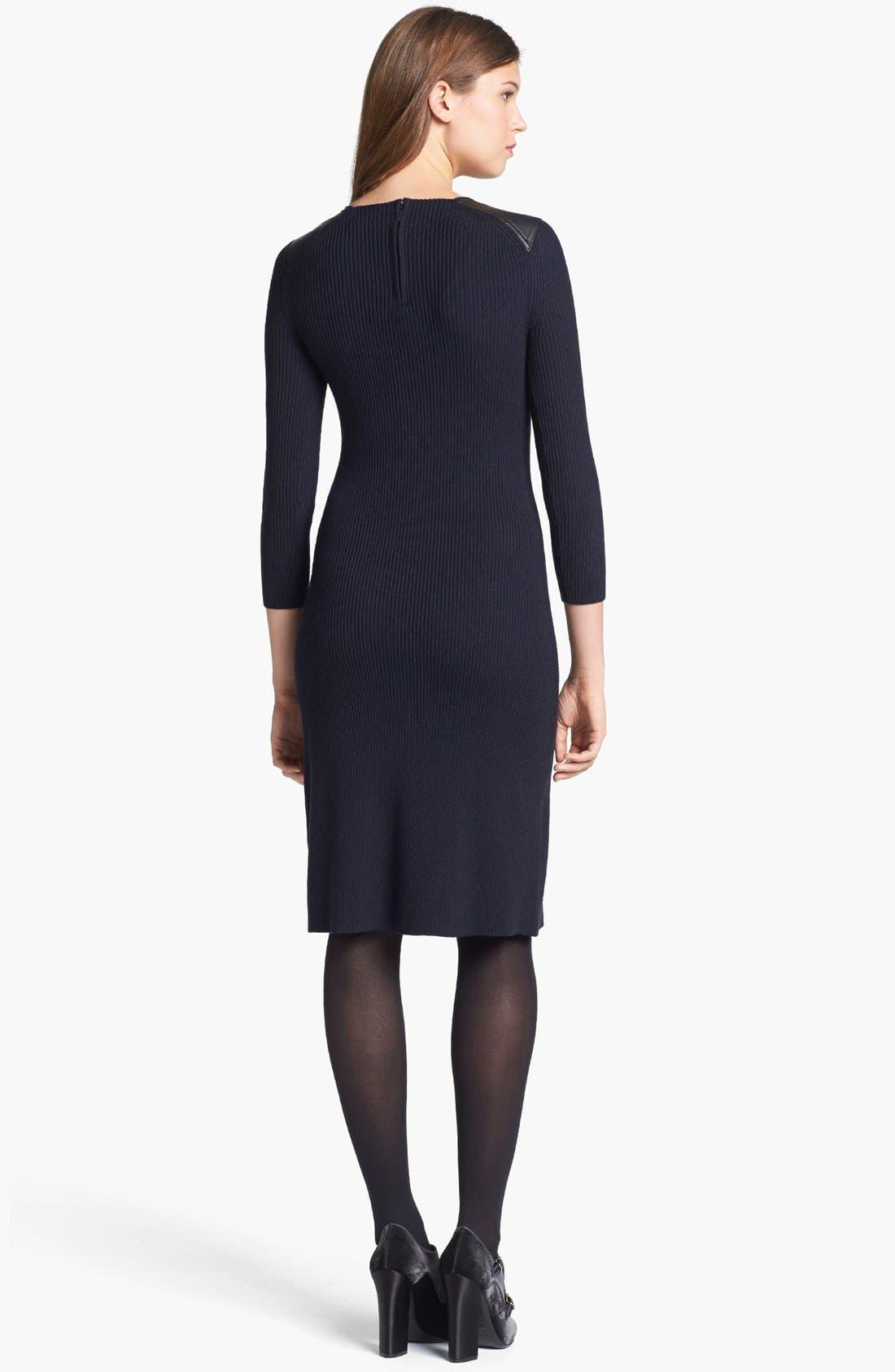 Alternate Image 2  - Tory Burch 'Courtney' Merino Wool Blend Sweater Dress