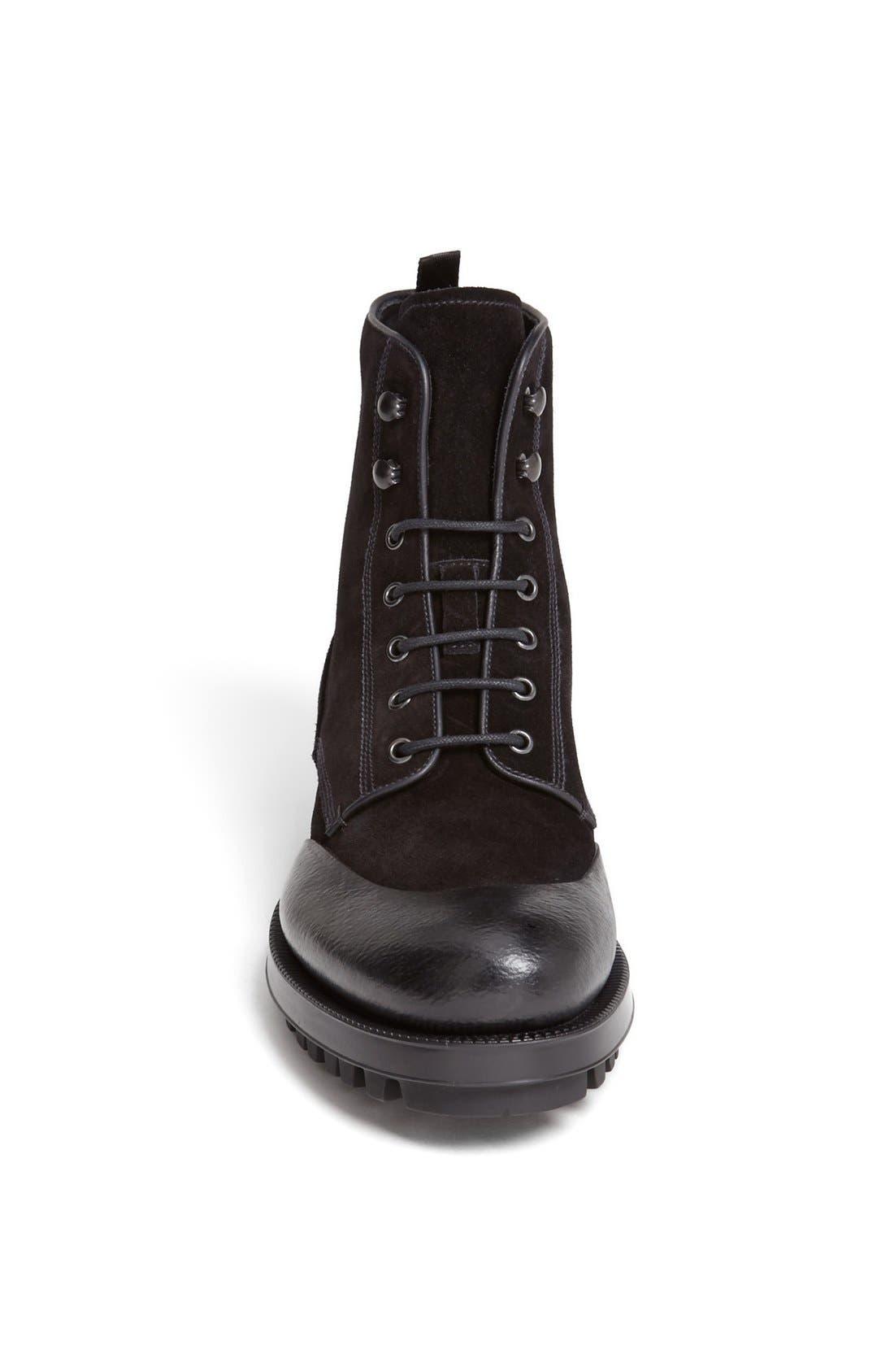 Alternate Image 3  - Prada Rubber Overlay Lugged Boot