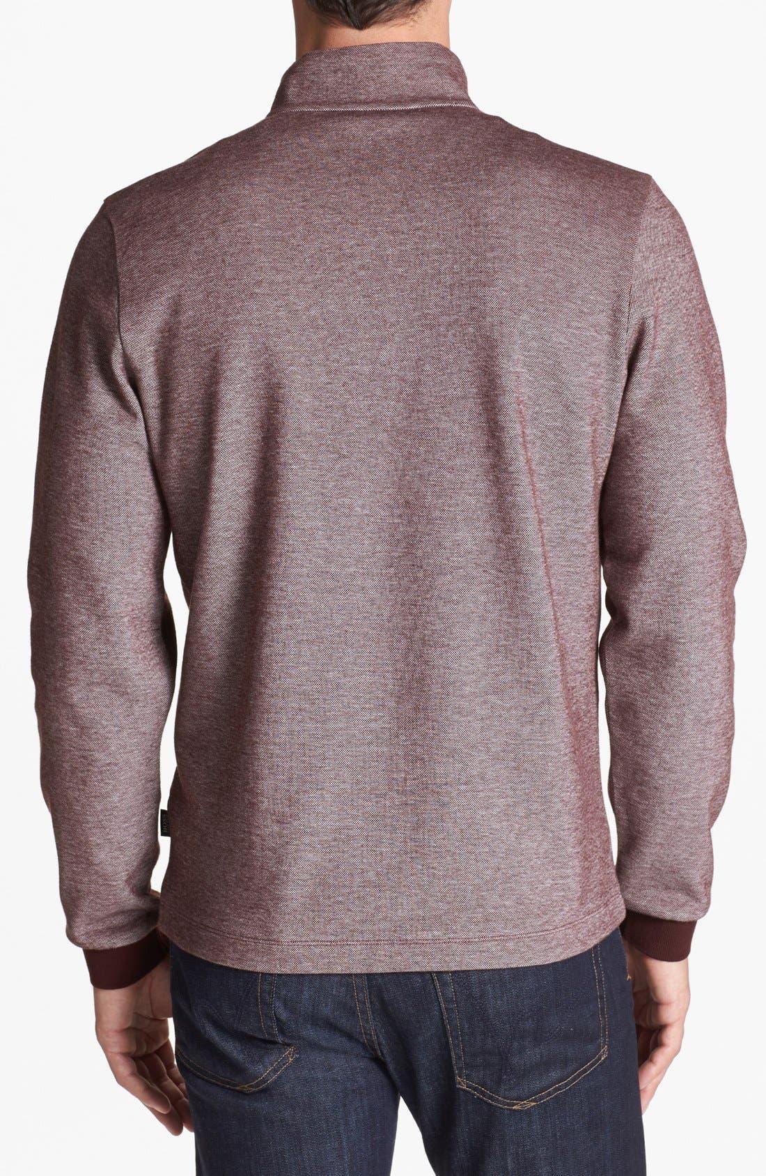 Alternate Image 2  - BOSS HUGO BOSS 'Piceno' Mock Neck Sweatshirt