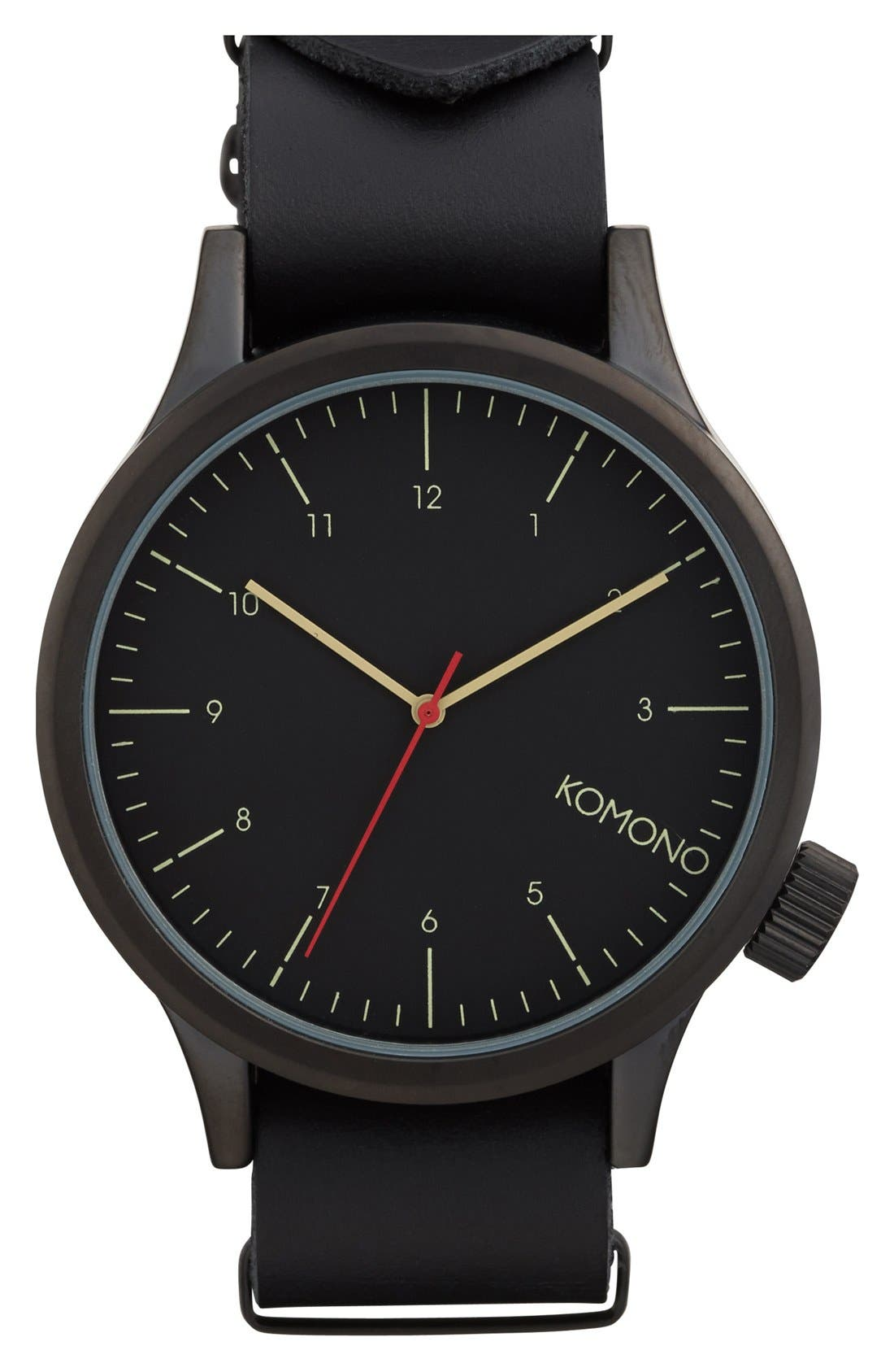 Alternate Image 1 Selected - Komono 'Magnus' Watch, 46mm