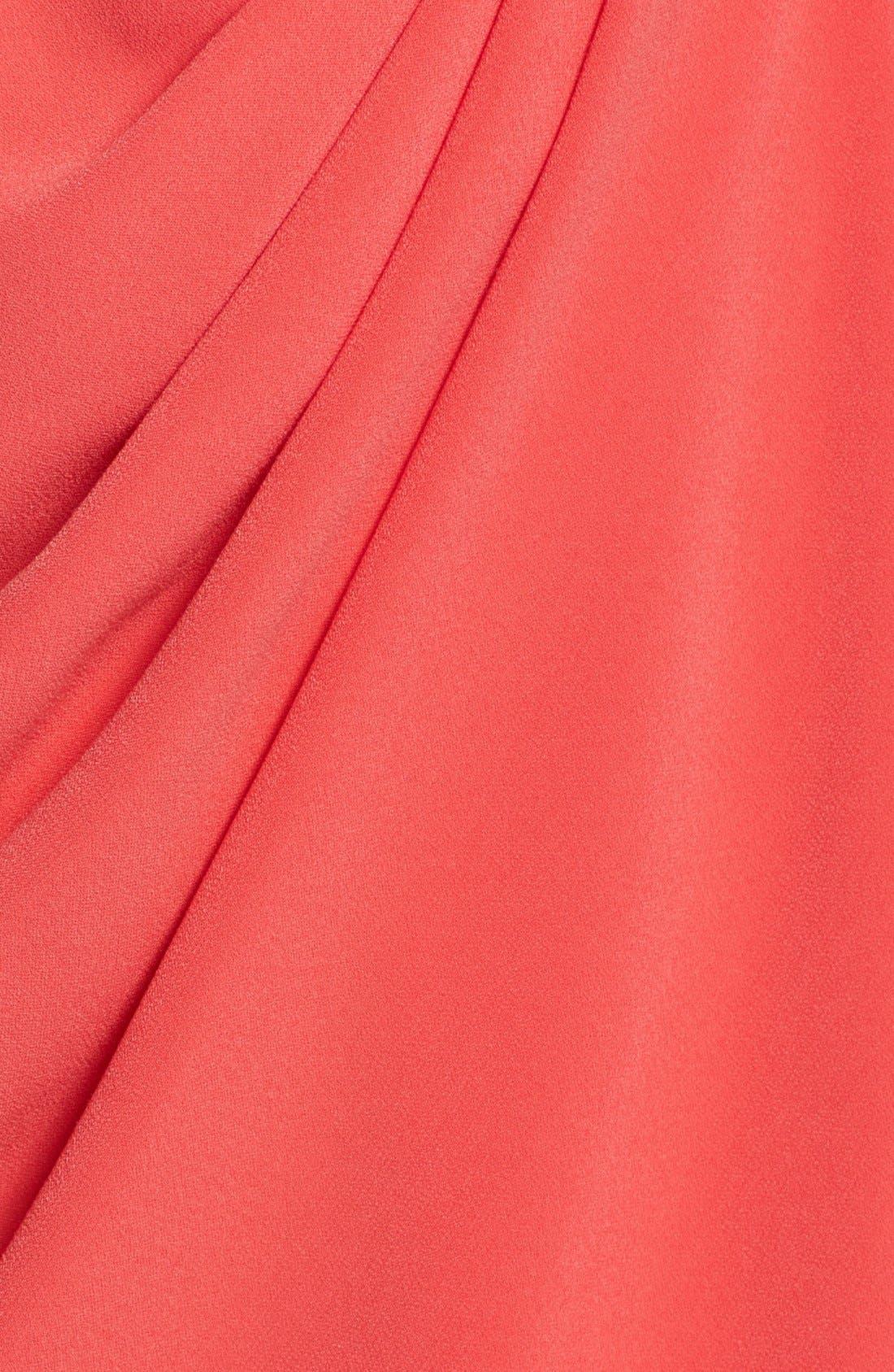 Alternate Image 3  - St. John Collection Kimono Sleeve Luxe Crepe Dress