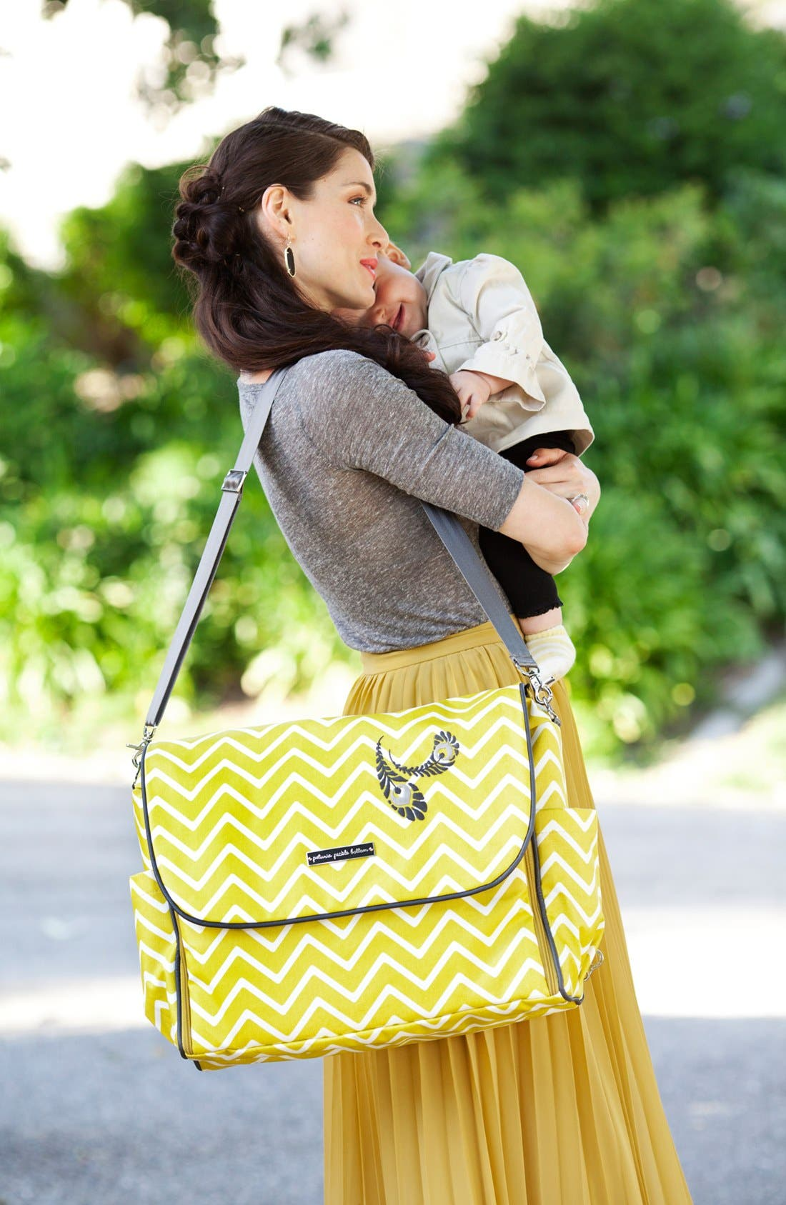 Alternate Image 4  - Petunia Pickle Bottom 'Abundance Boxy' Backpack Diaper Bag