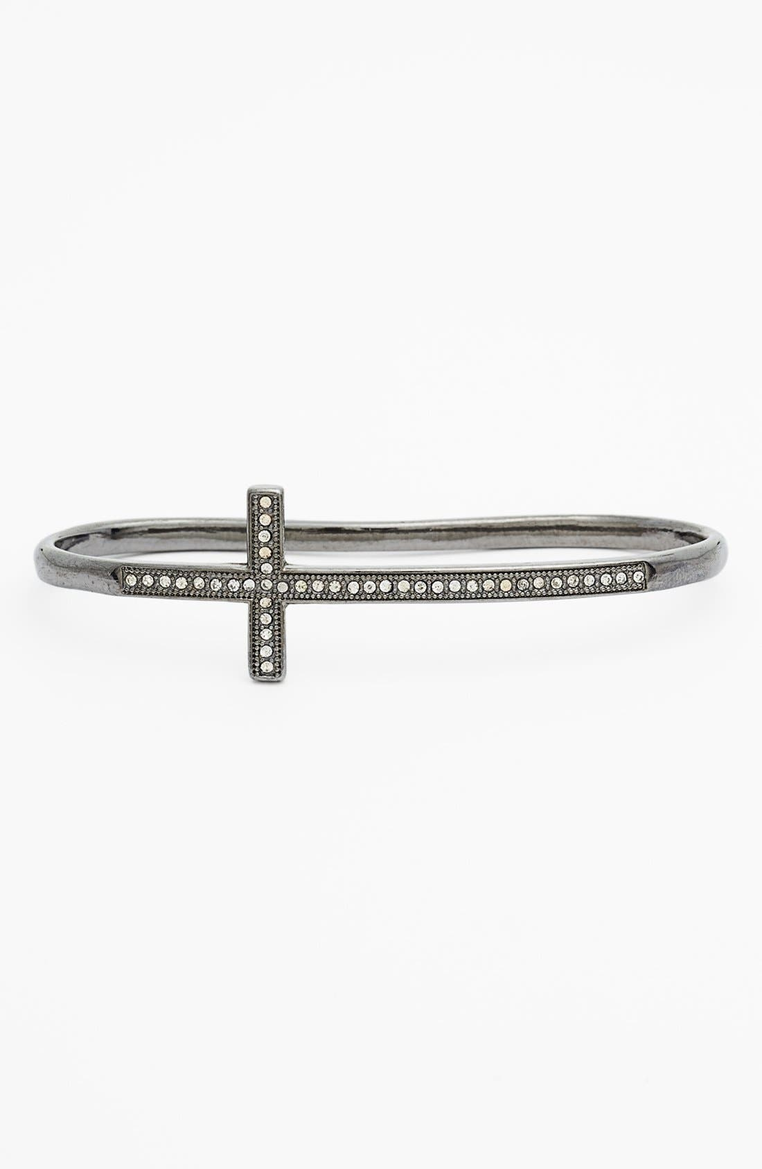 Main Image - Cara Cross Knuckle Ring