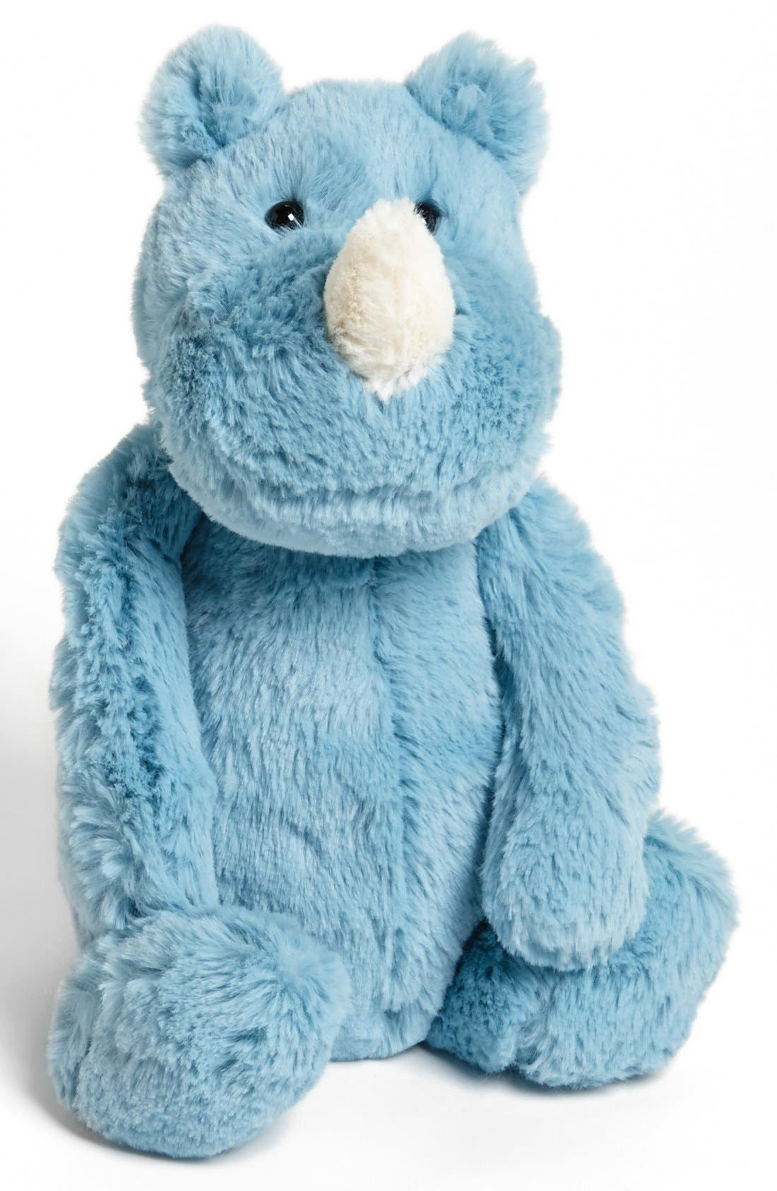 Alternate Image 1 Selected - Jellycat 'Bashful Rhino' Stuffed Animal