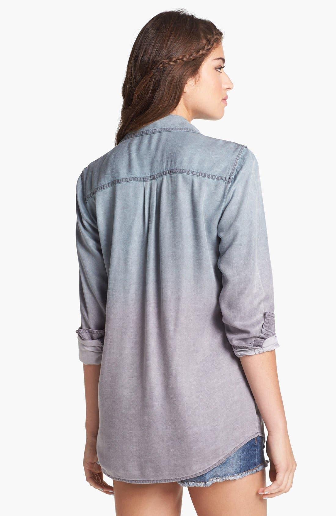 Alternate Image 2  - Rubbish® Ombré Shirt (Juniors)