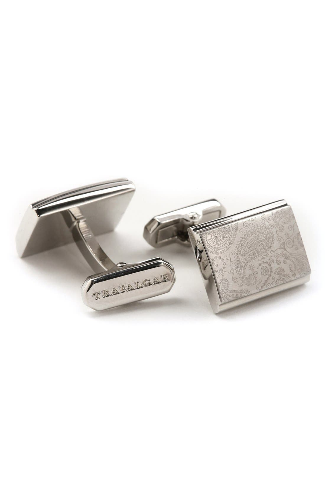 Alternate Image 1 Selected - Trafalgar 'Brentwood' Paisley Cuff Links