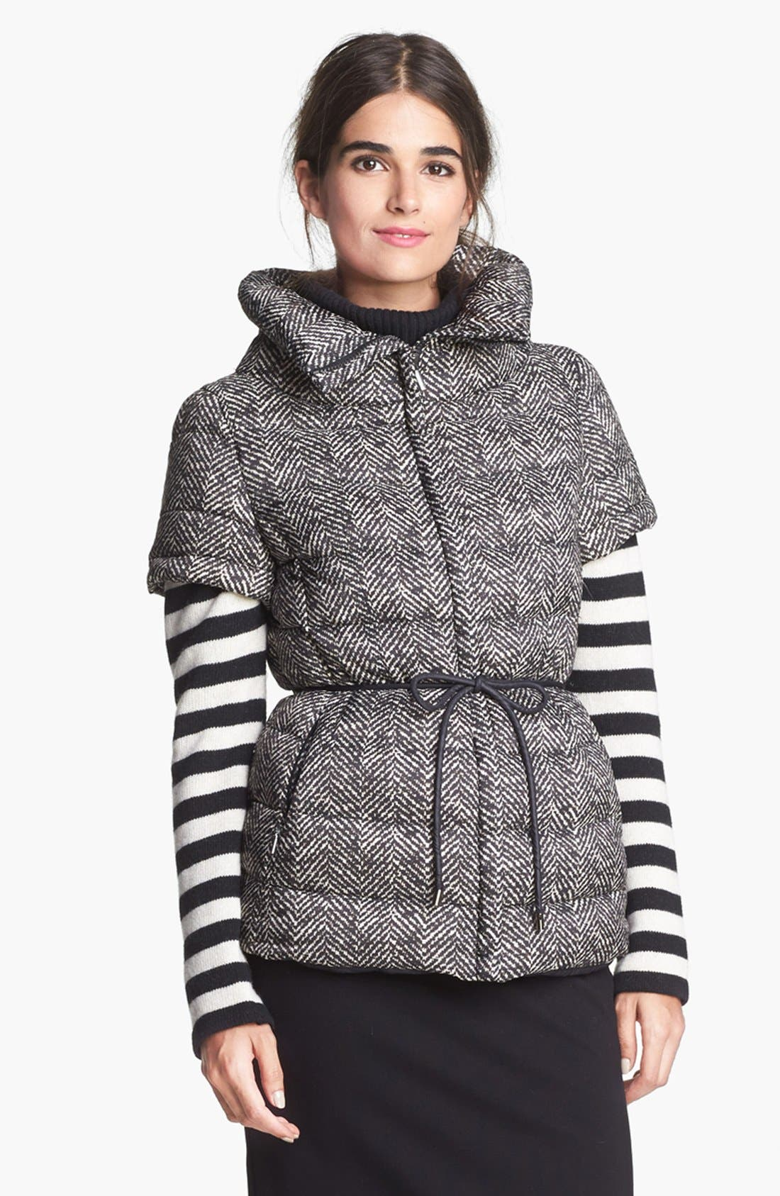 Alternate Image 2  - Weekend Max Mara 'Alcuno' Convertible Quilted Jacket