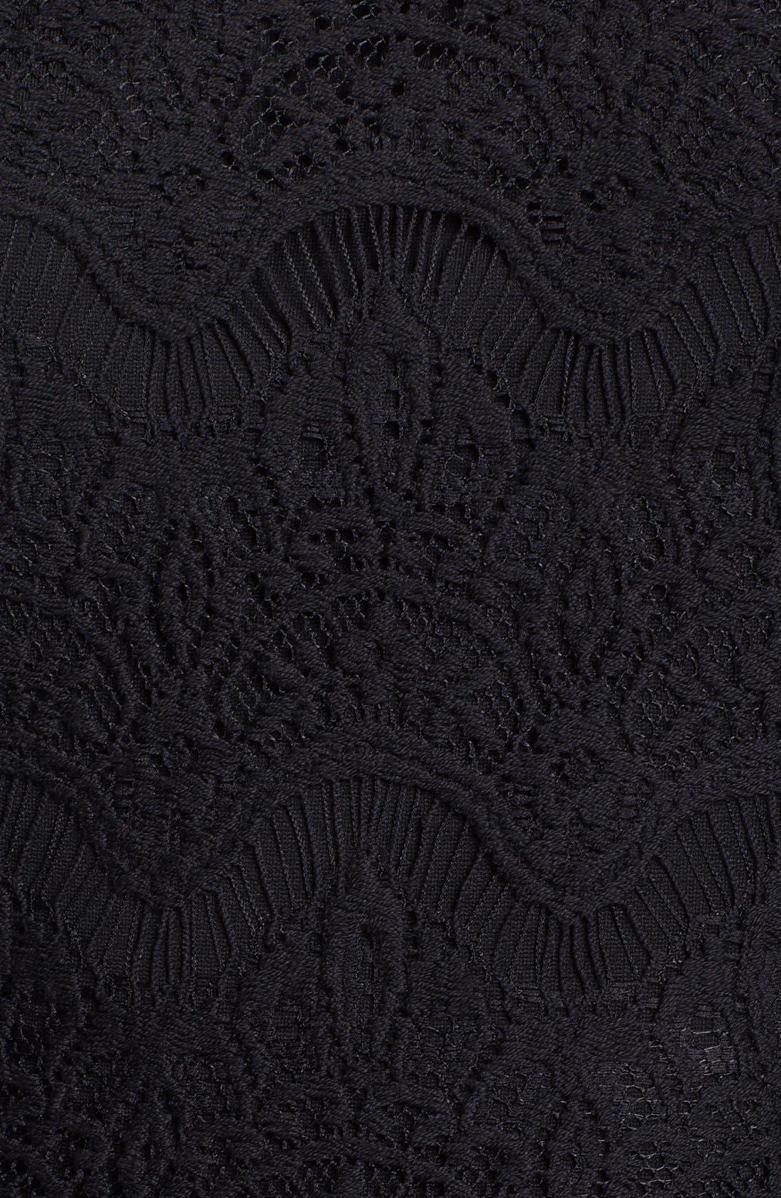 Alternate Image 3  - Lilly Pulitzer® 'Remmy' Lace Bodice Ponte Knit Fit & Flare Dress