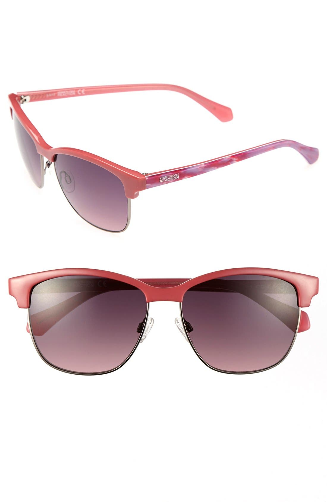 Alternate Image 1 Selected - Kenneth Cole Reaction 'Clubmaster' 57mm Sunglasses