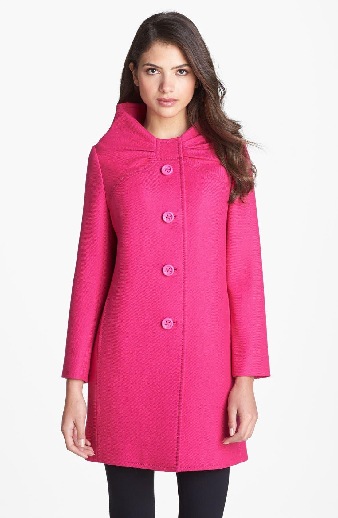 Alternate Image 1 Selected - kate spade new york 'etta' wool coat