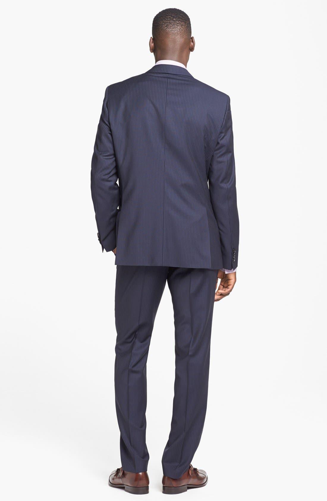 Alternate Image 2  - BOSS HUGO BOSS Suit & Dress Shirt