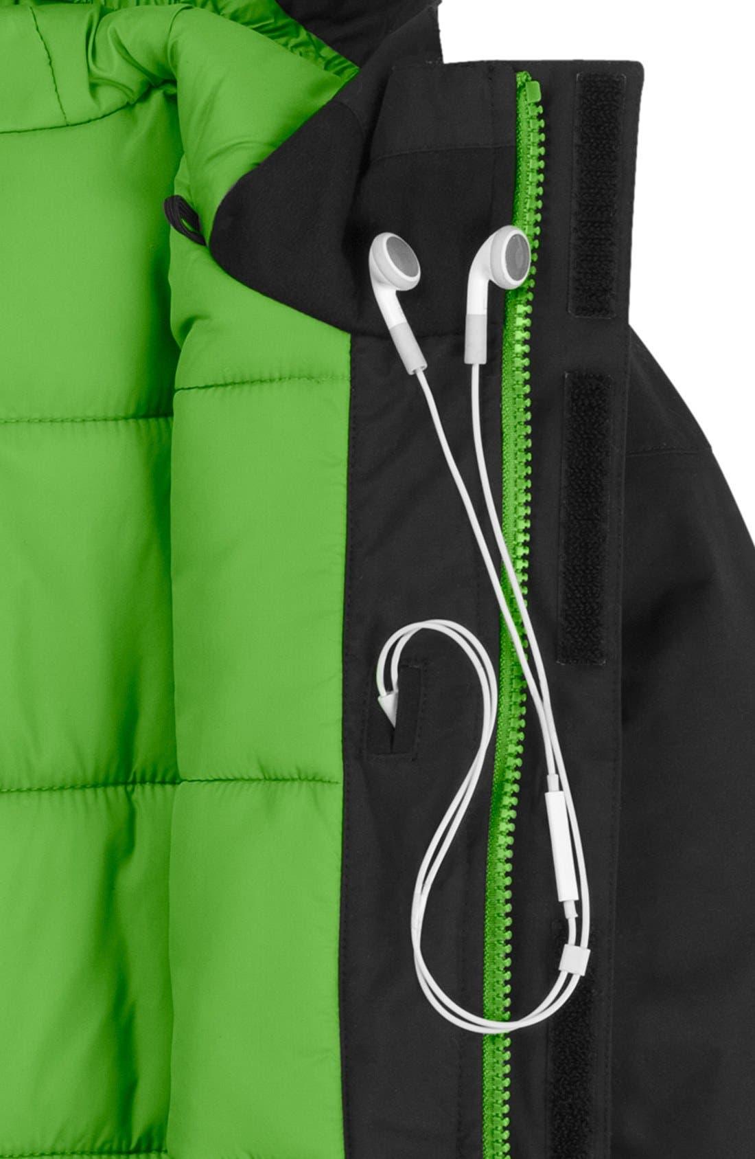 Alternate Image 3  - The North Face 'Navigate' Waterproof Heatseeker™ Aero Snowsport Jacket (Big Boys)