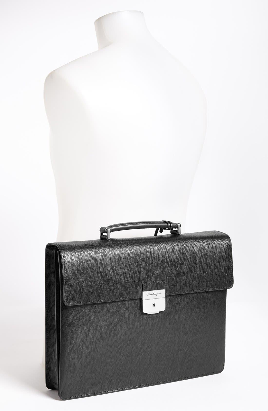Alternate Image 2  - Salvatore Ferragamo 'Revival' Briefcase