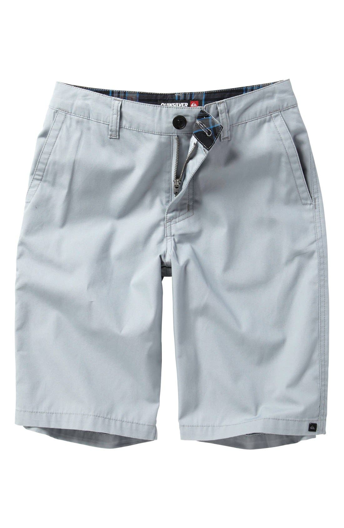 Alternate Image 1 Selected - Quiksilver 'Rockefeller' Shorts (Big Boys)