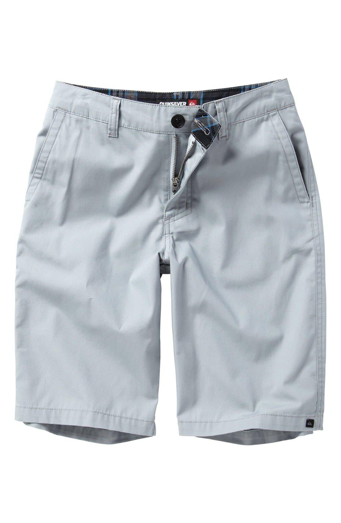 Main Image - Quiksilver 'Rockefeller' Shorts (Big Boys)
