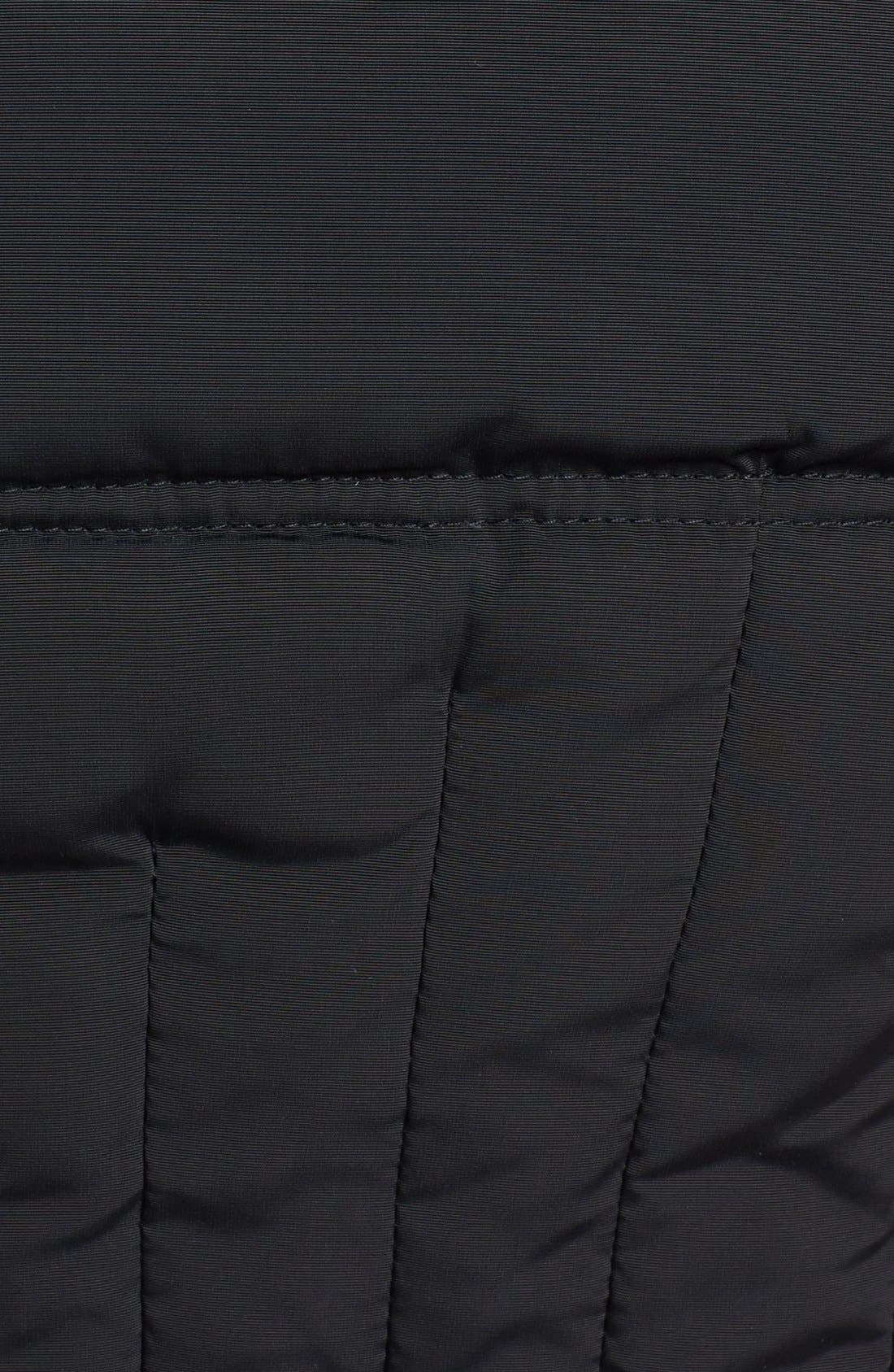 Alternate Image 3  - 1 Madison Genuine Fox Fur Trim Long Down & Feather Coat