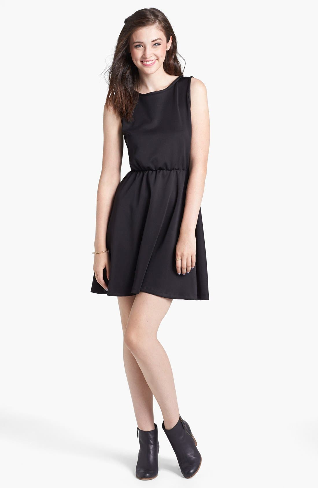 Main Image - Minty Skater Dress (Juniors)