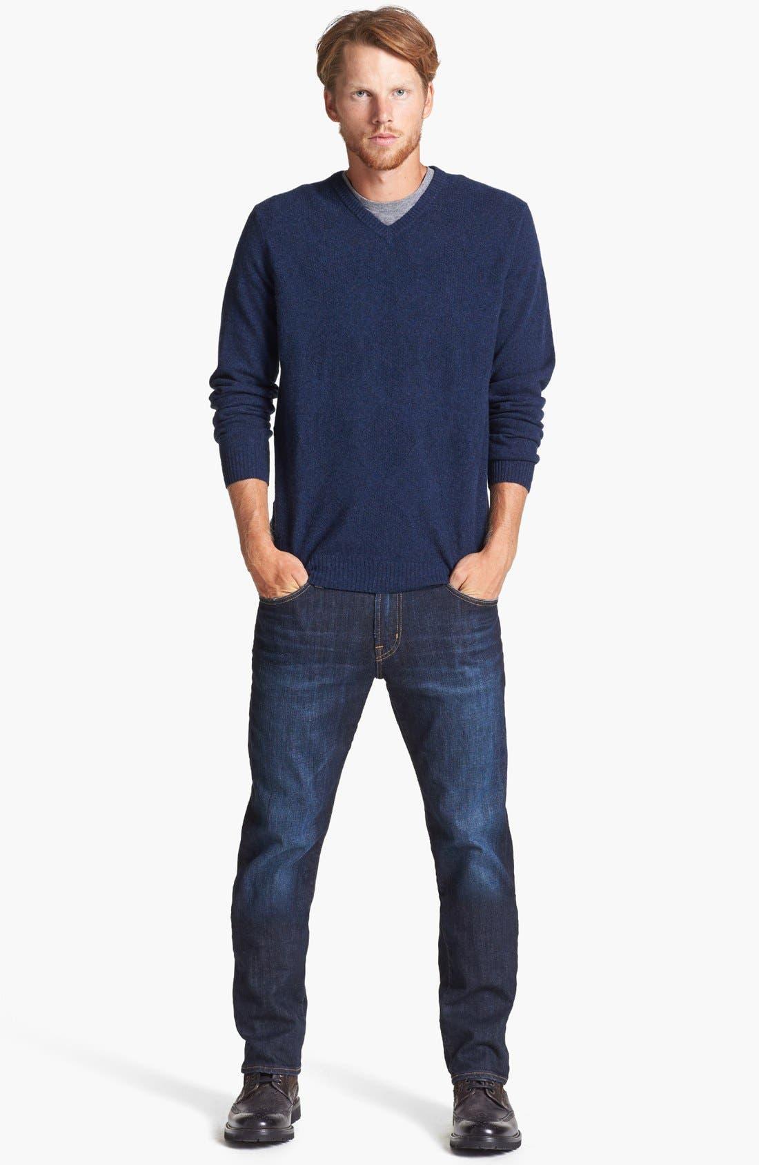 Alternate Image 7  - AG Graduate Slim Straight Leg Jeans (Robinson)
