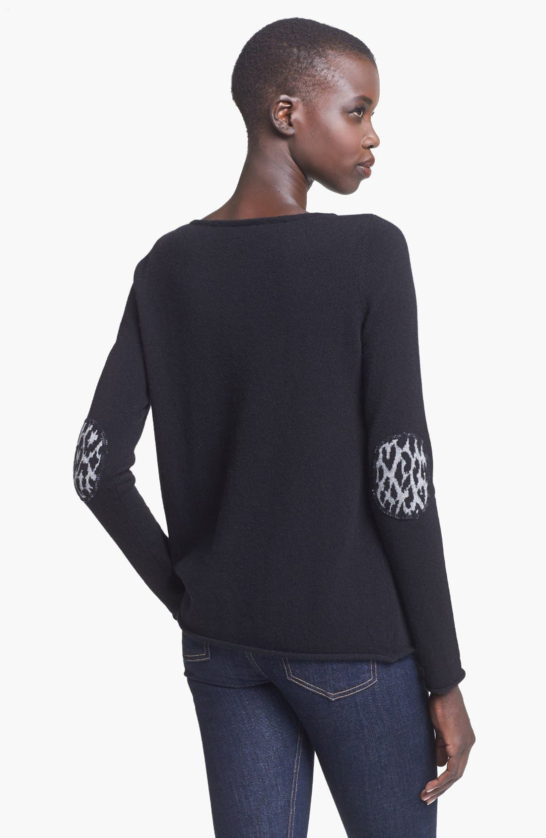 Alternate Image 2  - autumn cashmere Boatneck Cashmere Sweater