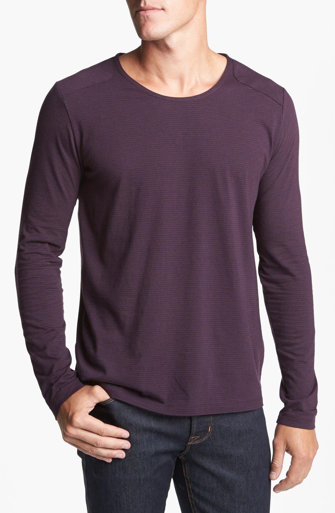 Main Image - HUGO 'Darlone' Crewneck Shirt