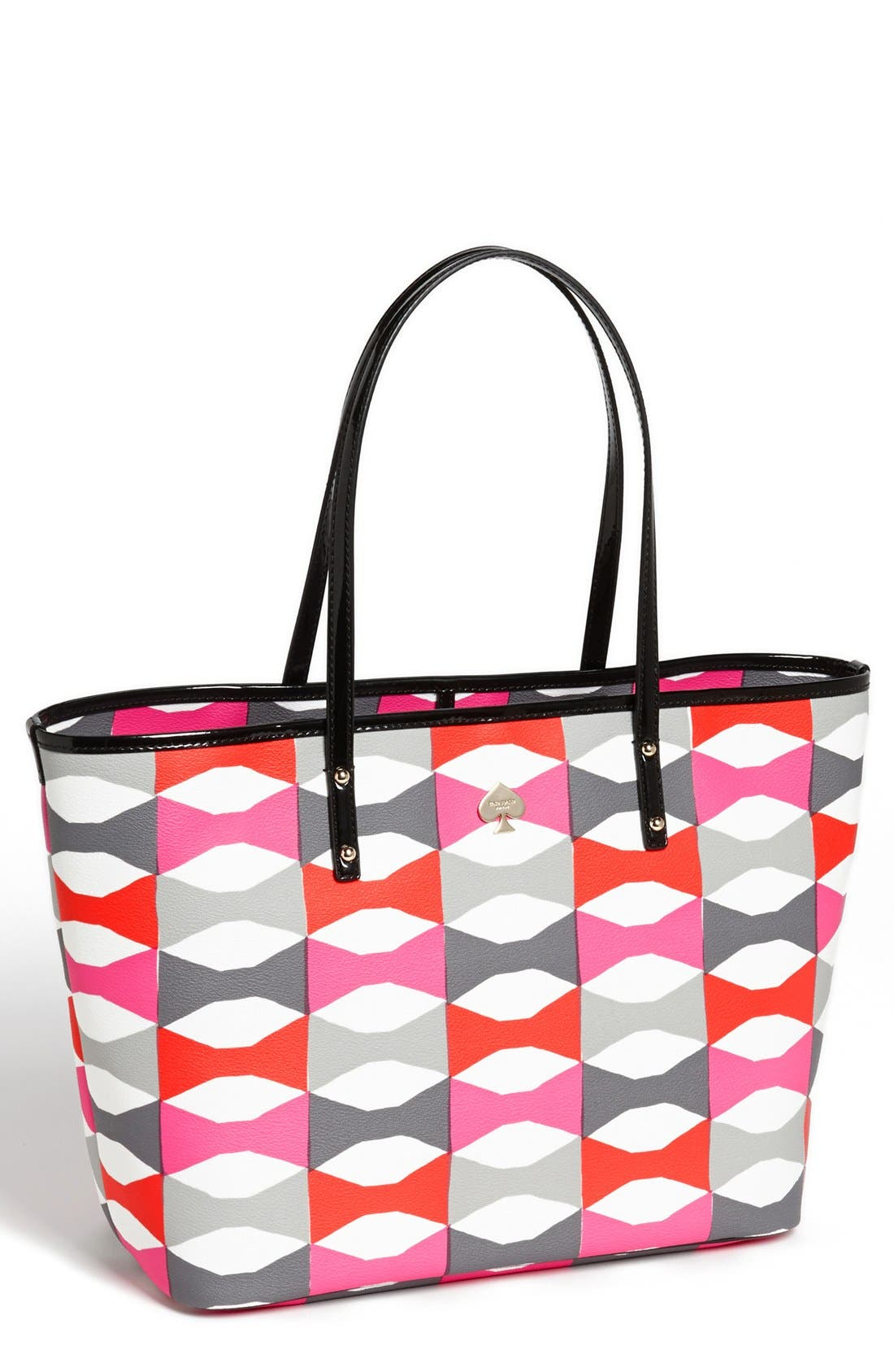 Main Image - kate spade new york 'signature bow harmony - medium' tote