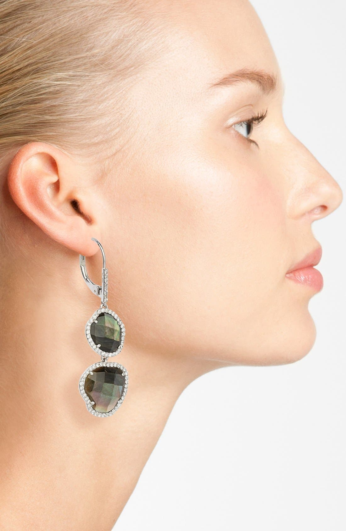 Alternate Image 2  - Nadri Doublet Drop Earrings (Nordstrom Exclusive)
