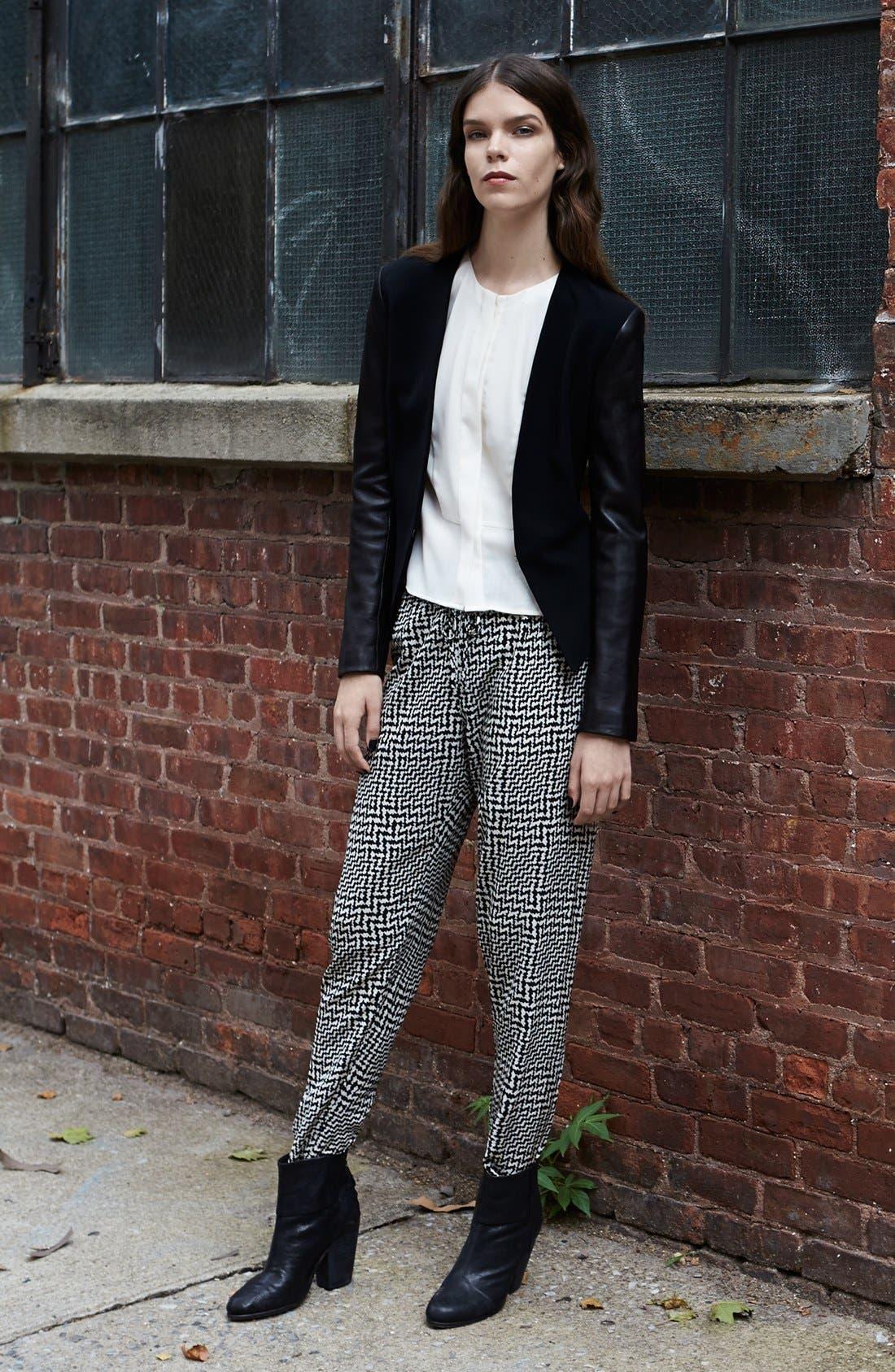 Main Image - rag & bone Blazer, Blouse & Pants