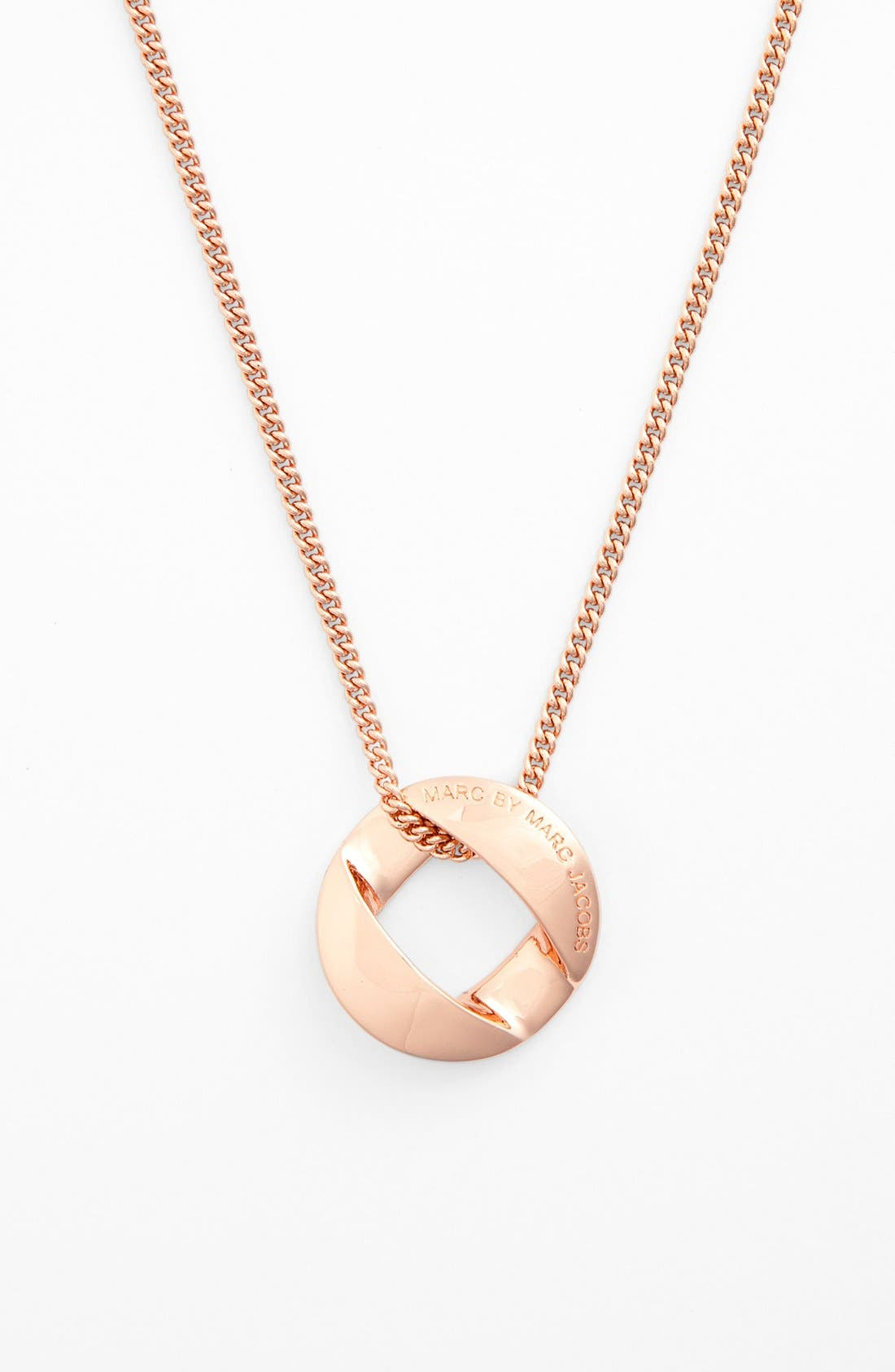 Alternate Image 1 Selected - MARC BY MARC JACOBS 'Katie' Pendant Necklace